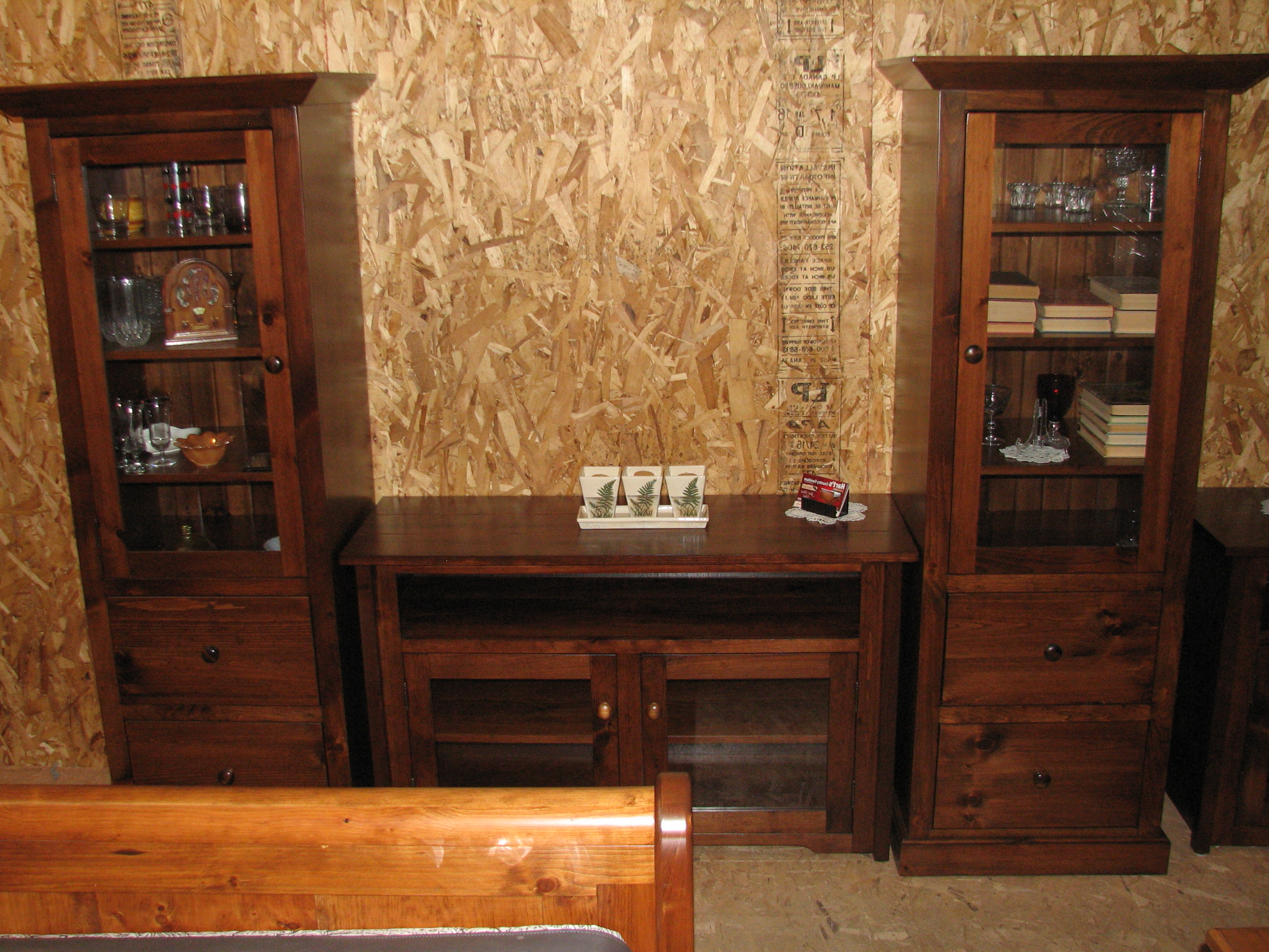 Preferred Rustic Pine Tv Cabinets Pertaining To Tv And Stereo Stands Mennonite Shaker Style Custom Built Rustic Pine (View 6 of 20)