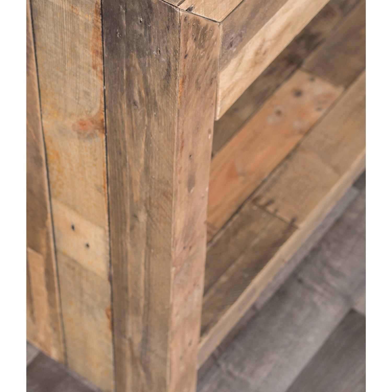 Preferred Shop Oscar Grey Reclaimed Wood Console Tablekosas Home – Free Regarding Oscar 60 Inch Console Tables (View 18 of 20)