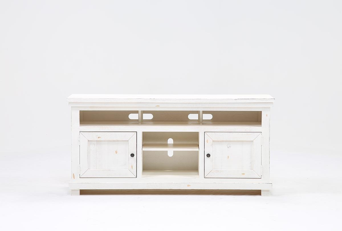 Preferred Sinclair White 64 Inch Tv Stand (Gallery 3 of 20)