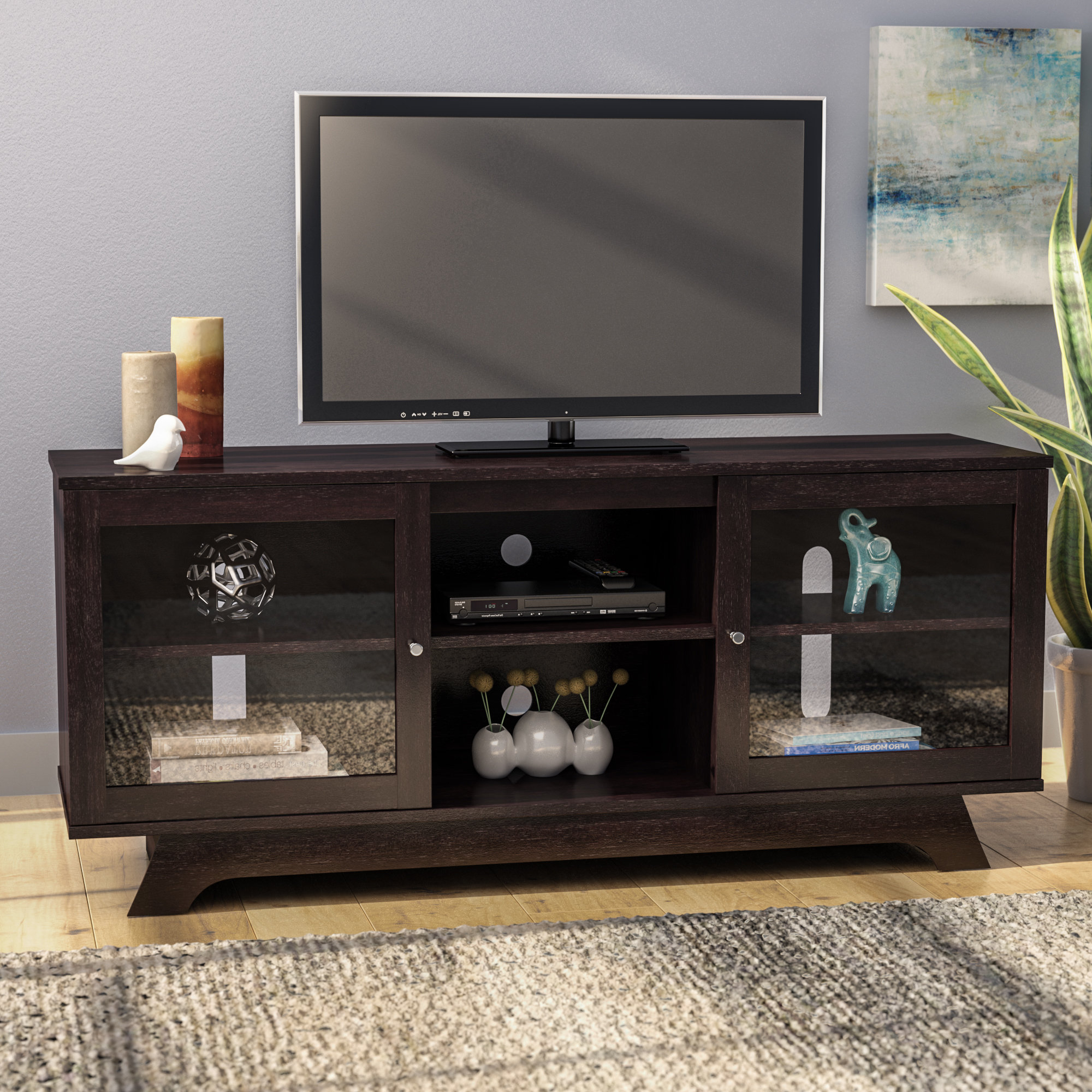 Preferred Slim Tv Stands With Tv Stands & Entertainment Centers You'll Love (Gallery 19 of 20)
