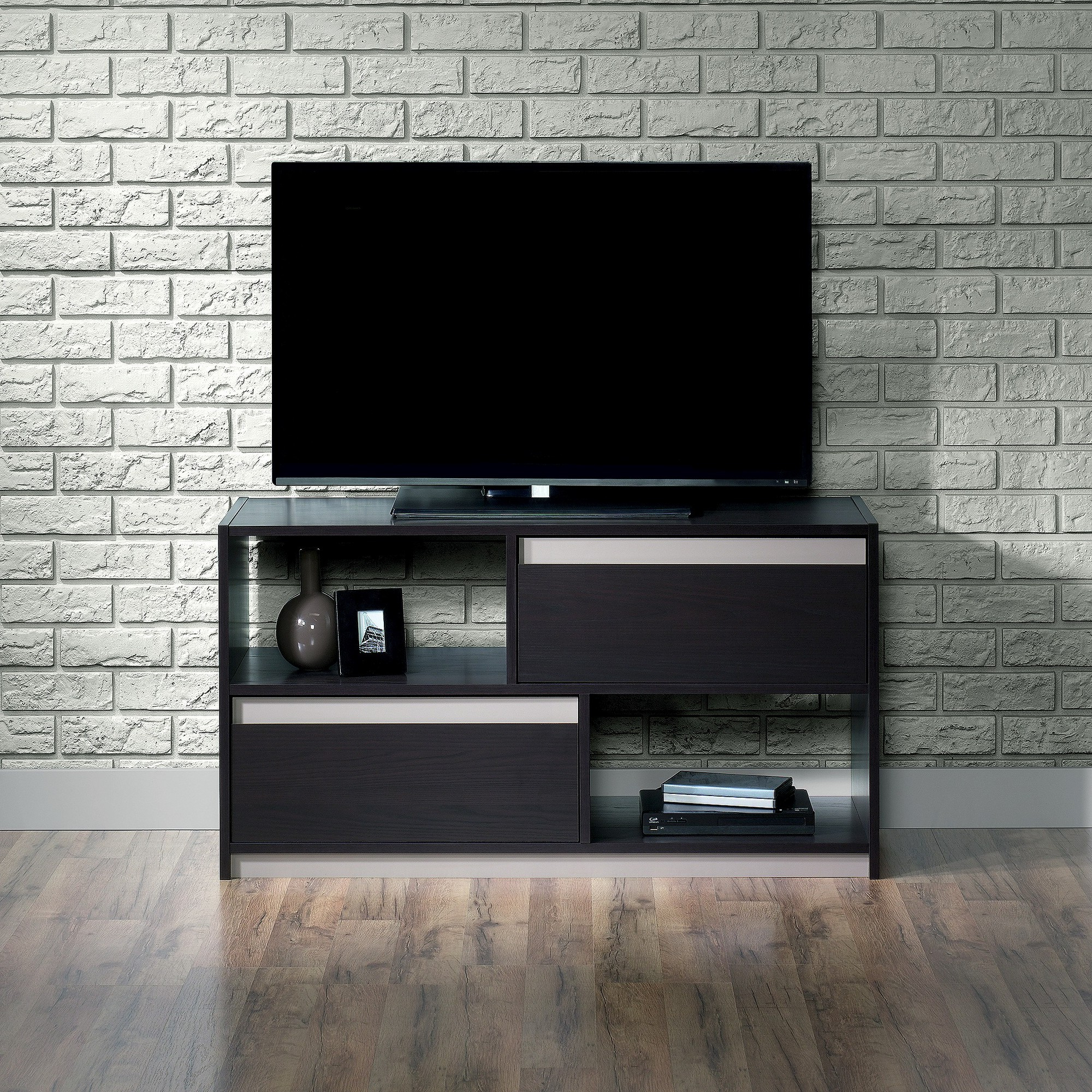 "Preferred Square1 Tv Stand With Reversible Accents 42"" (Fits Up To 47 Inside Maddy 60 Inch Tv Stands (Gallery 11 of 20)"
