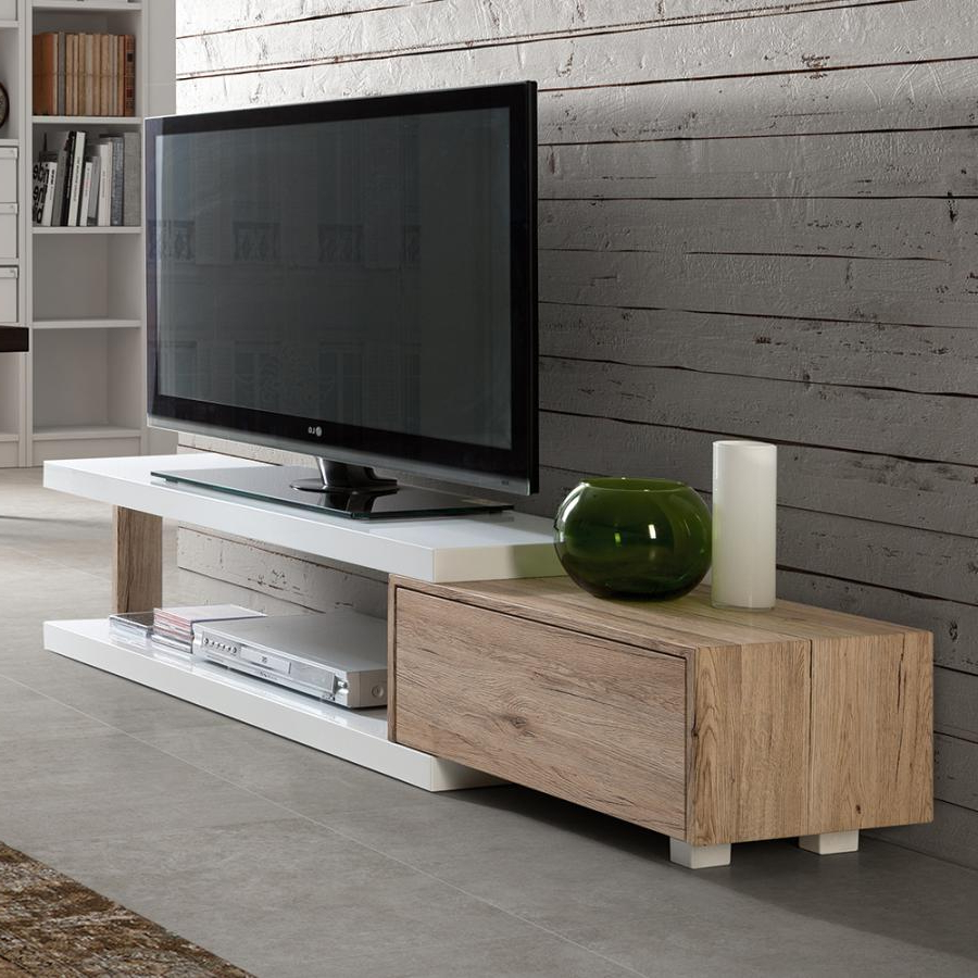 Preferred Tv Stand Designs Furniture For Living Room Cheap White 60 Inch Pertaining To Contemporary Oak Tv Stands (View 14 of 20)