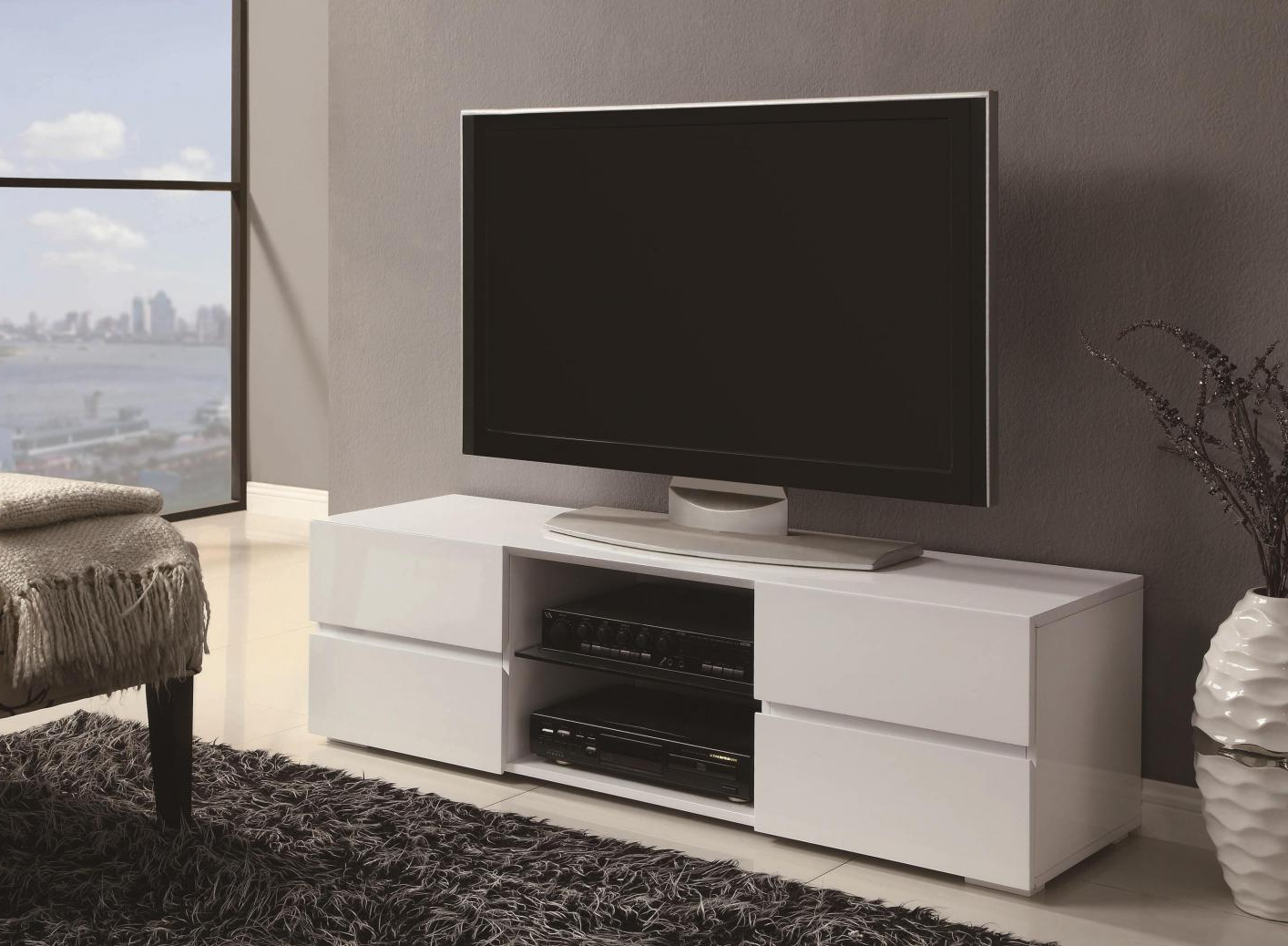 Preferred White And Wood Tv Stands Inside White Wood Tv Stand – Steal A Sofa Furniture Outlet Los Angeles Ca (View 7 of 20)