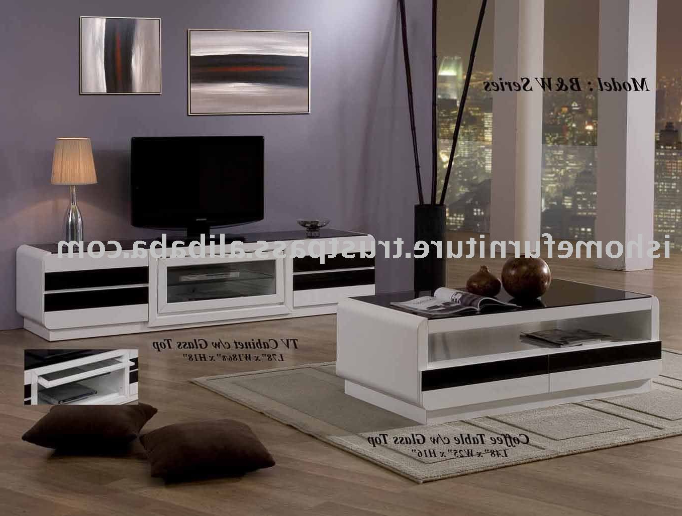 Preview Full: Bw Series Coffee Tabletv Stand Buy Home Pertaining To Latest Tv Unit And Coffee Table Sets (Gallery 11 of 20)