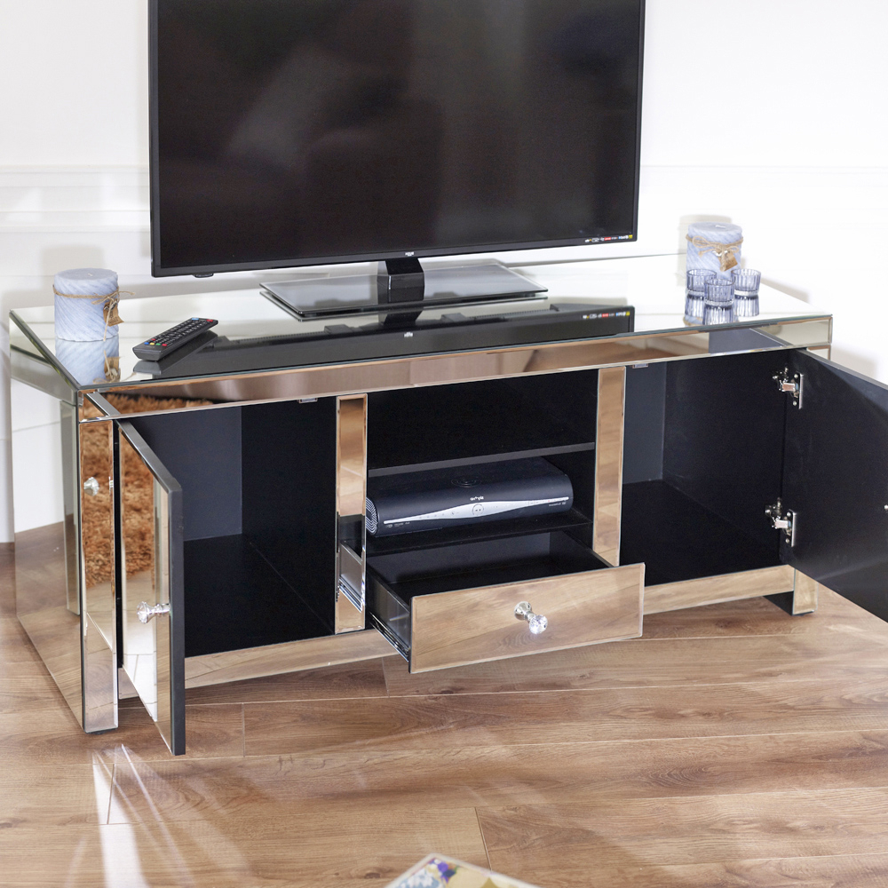 Product Of The Week – Venetian Mirrored Widescreen Tv Unit (View 17 of 20)