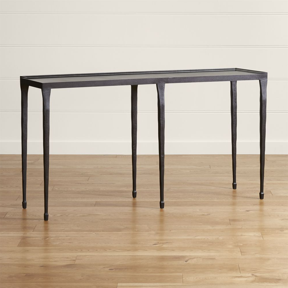 Featured Photo of Silviano 60 Inch Iron Console Tables