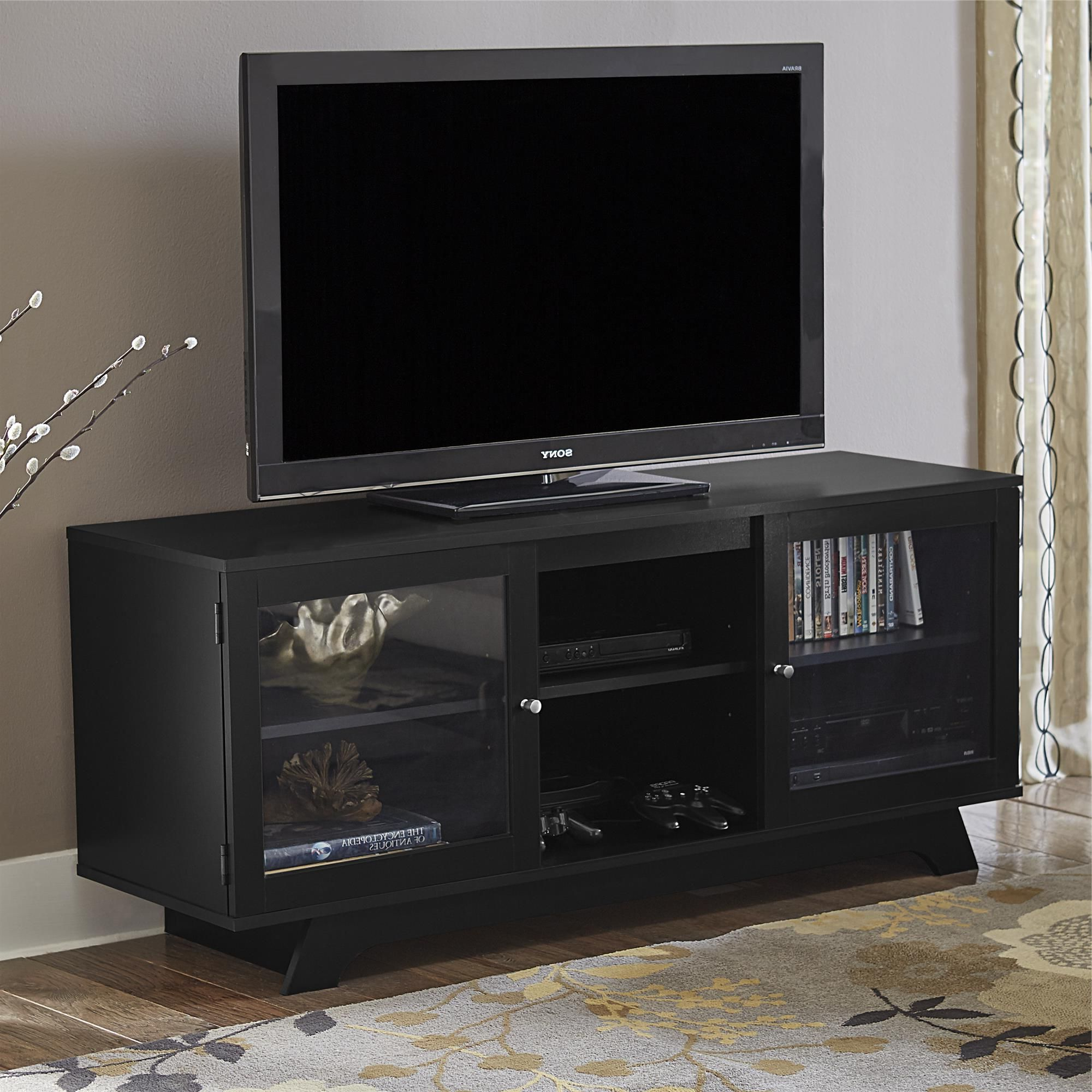 Products In Black Tv Stands With Drawers (View 12 of 20)