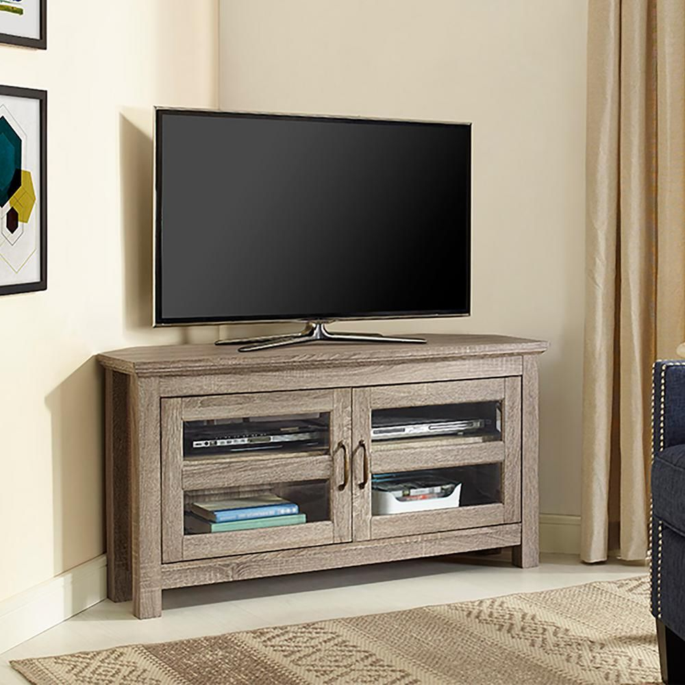 Products In Grey Wood Tv Stands (View 10 of 20)