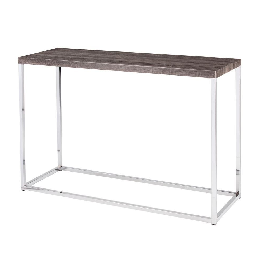Products Intended For Parsons Clear Glass Top & Dark Steel Base 48x16 Console Tables (View 19 of 20)