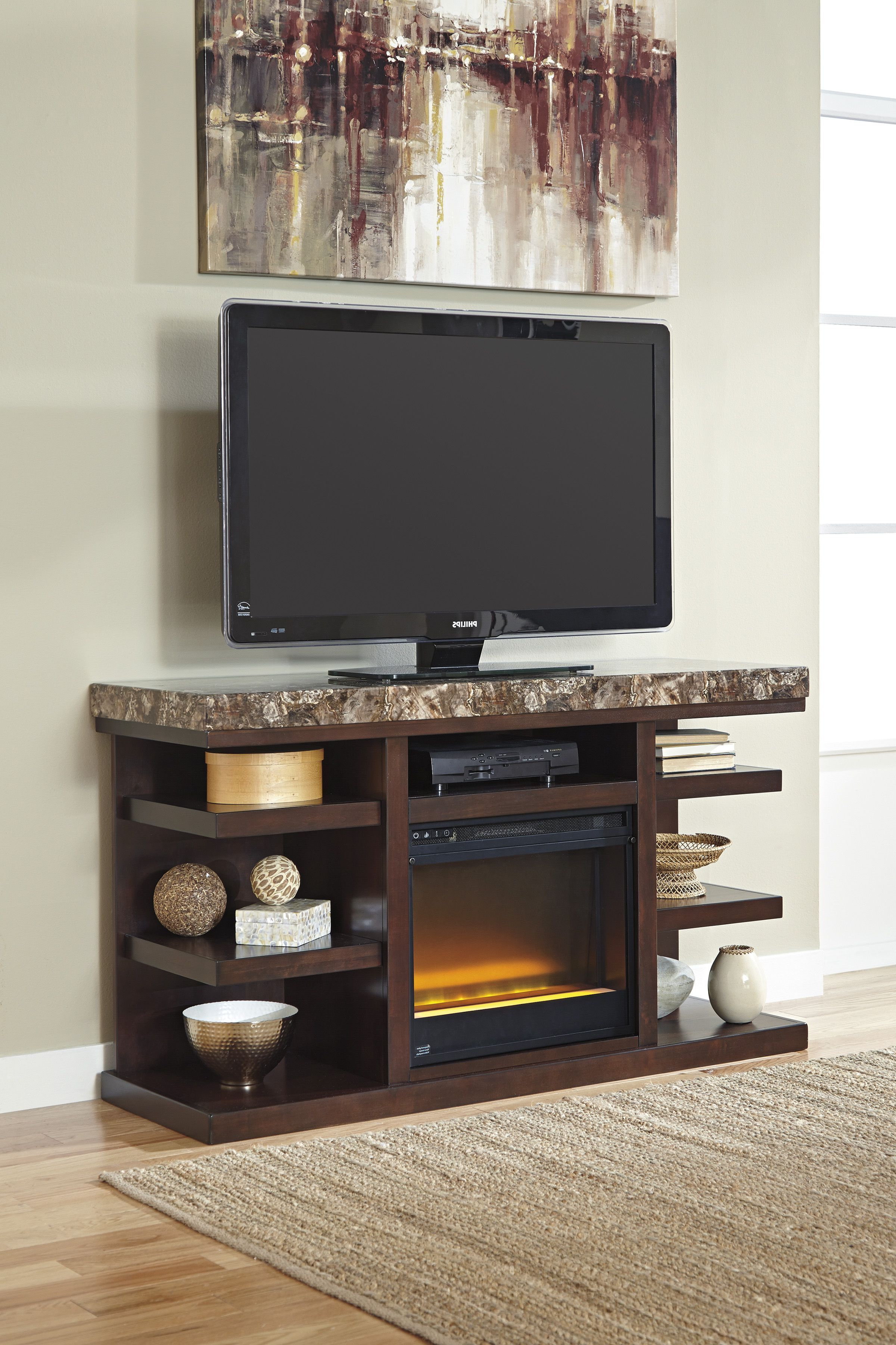 Projects To Try With Edwin Black 64 Inch Tv Stands (Gallery 6 of 20)