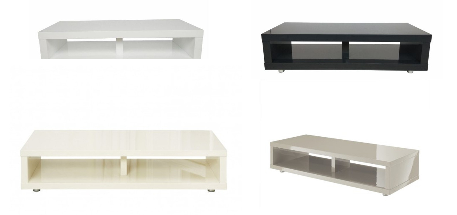 Puro High Gloss Tv Cabinet / Media Stand – Cream, White, Stone Or Inside Newest Cream High Gloss Tv Cabinets (View 17 of 20)