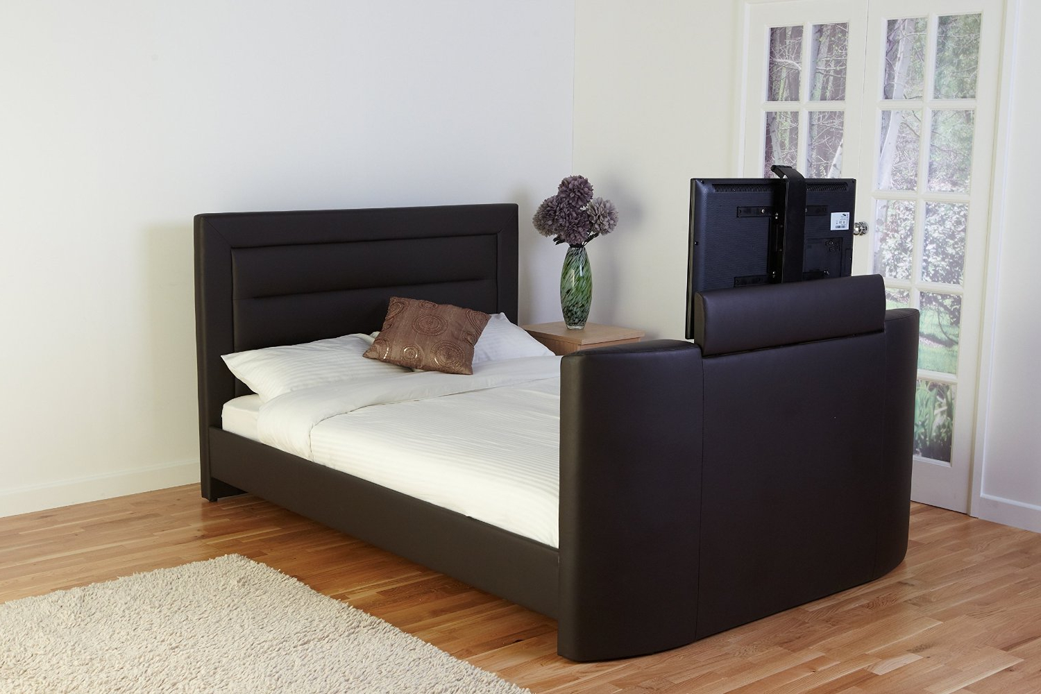 Qosy In Most Popular 32 Inch Tv Beds (View 17 of 20)