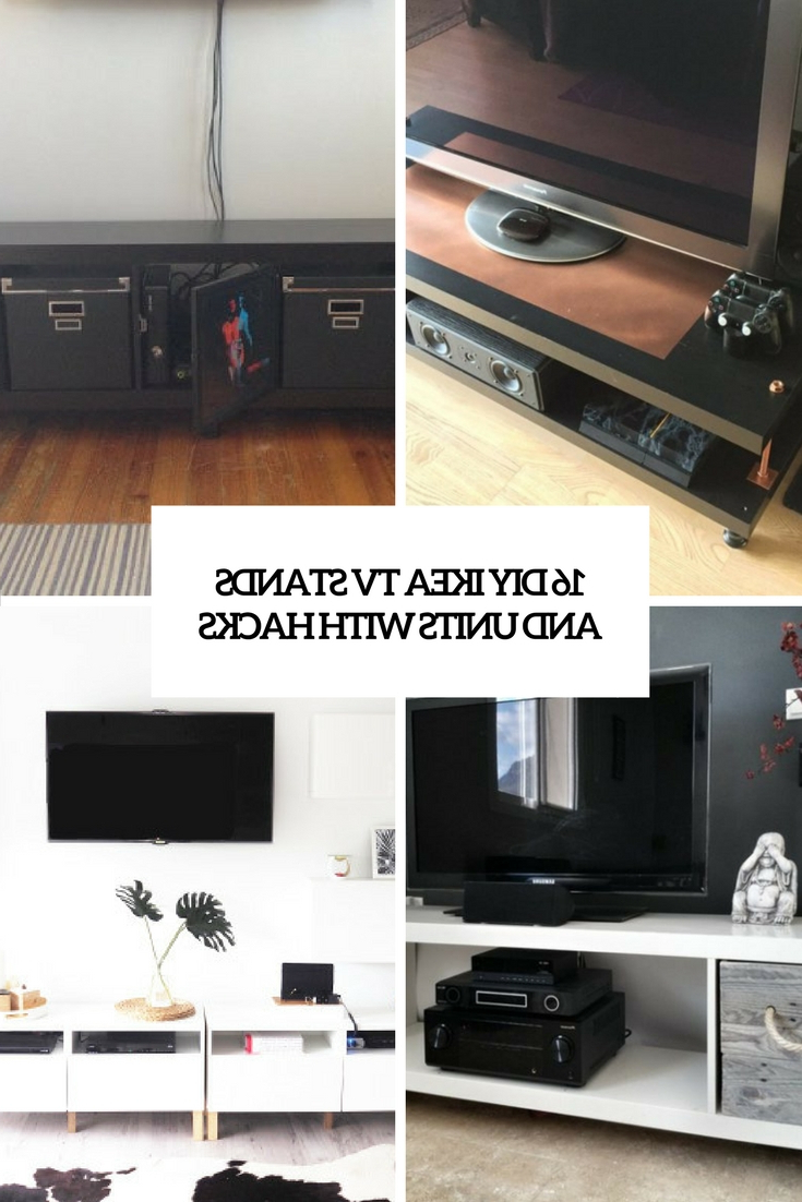 Radiator Cover Tv Stands Within Well Liked 16 Diy Ikea Tv Stands And Units With Hacks – Shelterness (View 19 of 20)