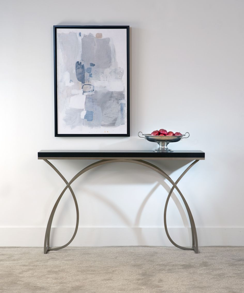 Raven Grey Tv Stands Intended For Best And Newest Console Tablescharleston Forge. Made In Usa (View 13 of 20)