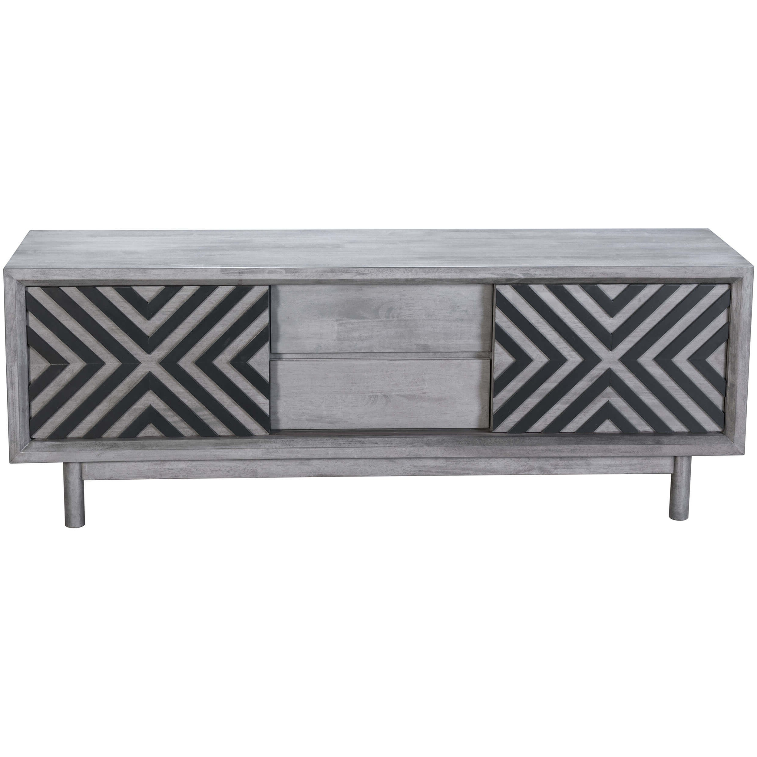 Raven Tv Stand, Old Gray – Zuo Modern – Furniture Throughout Widely Used Raven Grey Tv Stands (View 2 of 20)