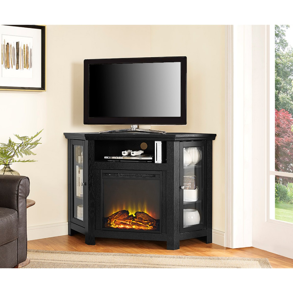 Recent Big Lots Tv Stands White Fireplace 70 Inch Stand Amazon Espresso Within Big Lots Tv Stands (View 13 of 20)