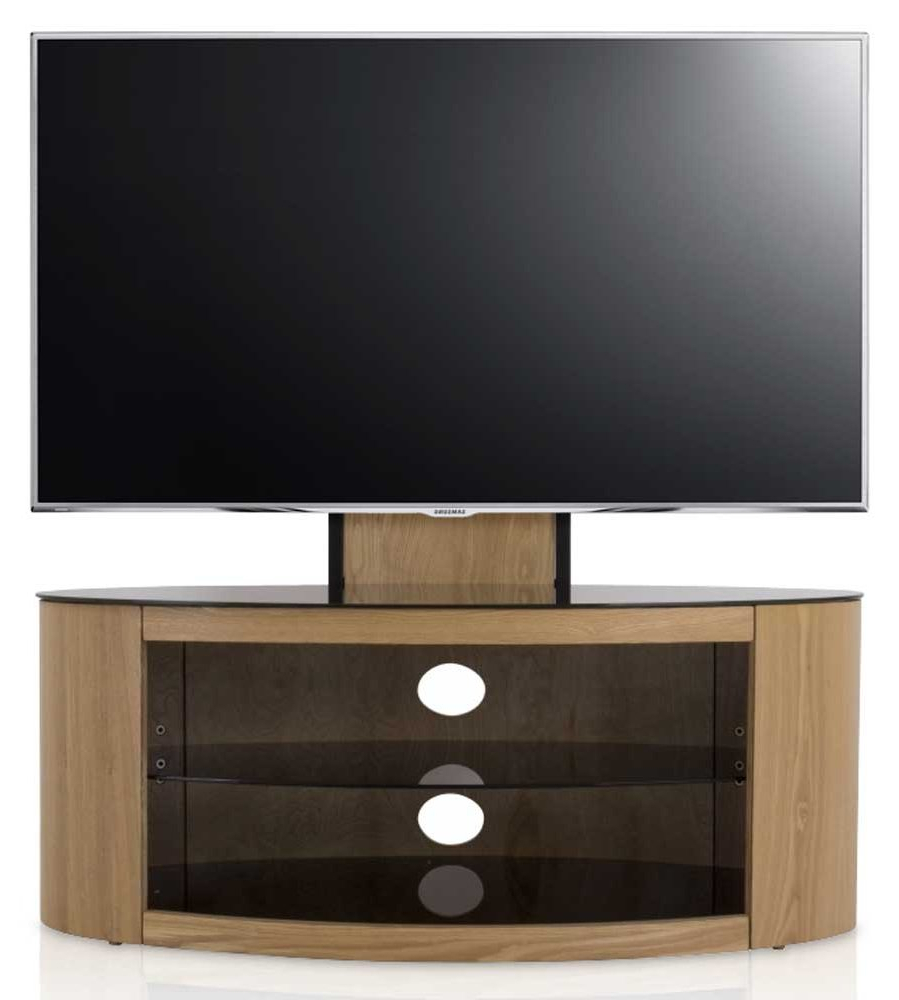 Recent Cheap Cantilever Tv Stands With Avf Buckingham Oak Cantilever Tv Stand (View 16 of 20)