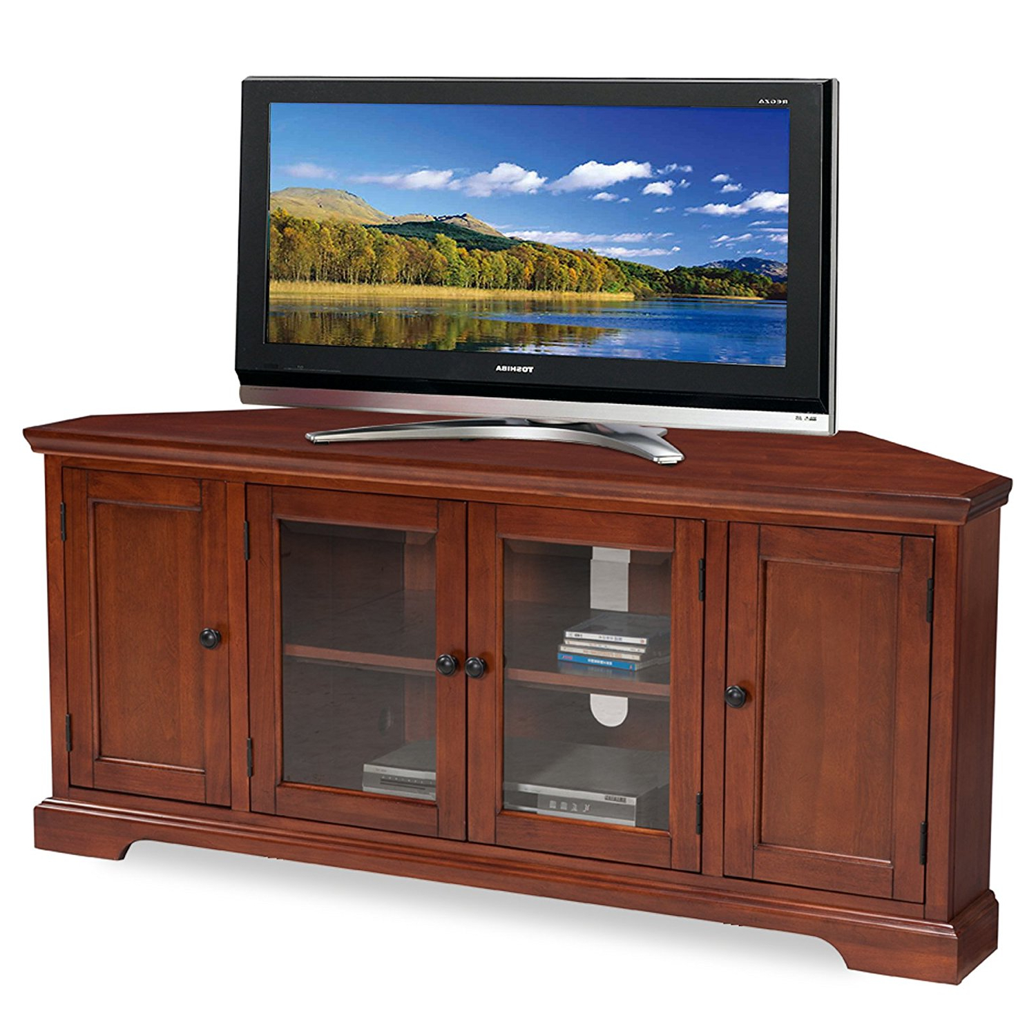Recent Cheap Hardwood Tv Stand, Find Hardwood Tv Stand Deals On Line At With Regard To Corner Tv Stands For 60 Inch Flat Screens (View 13 of 20)