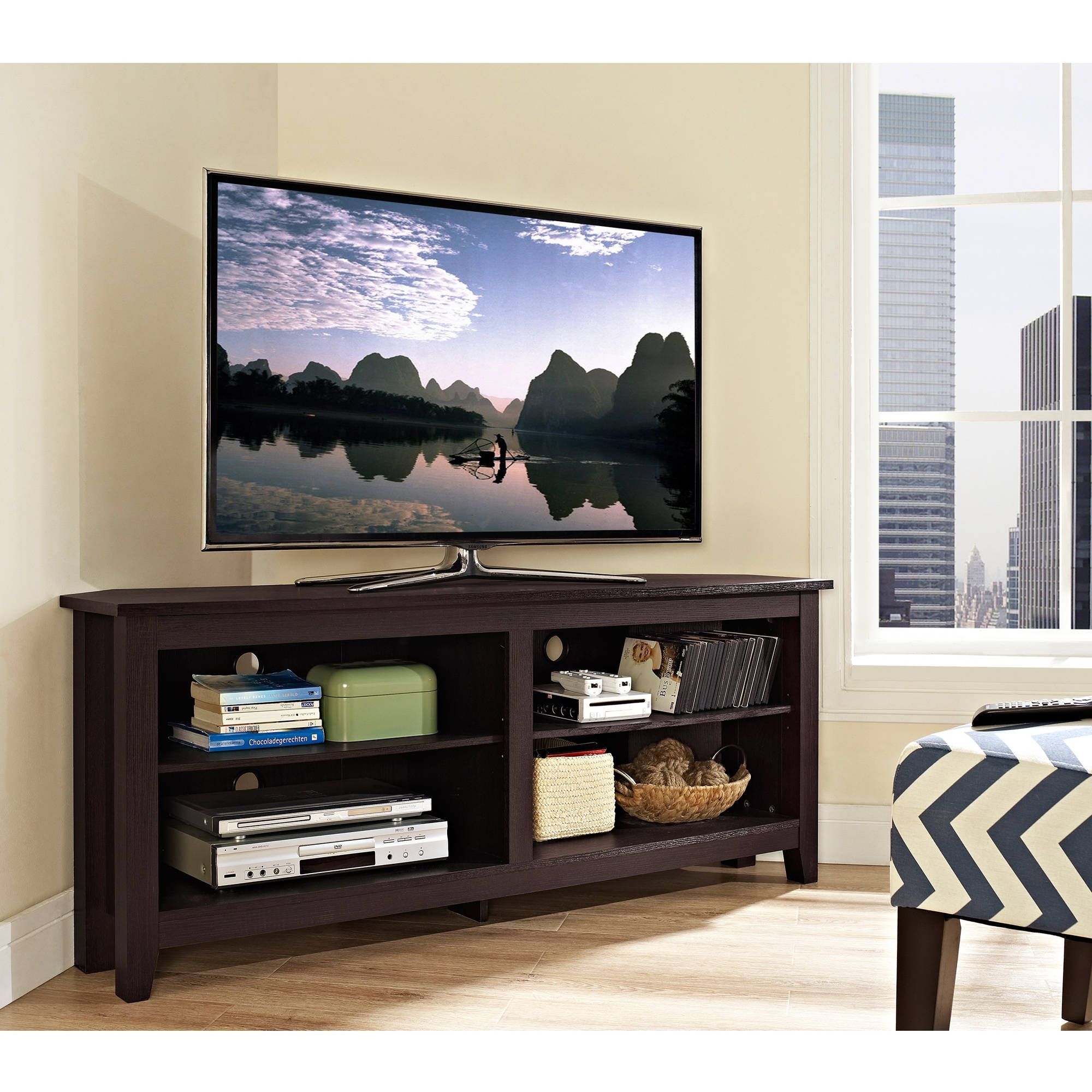 Recent Corner Tv Stands For Flat Screen Tvs (View 18 of 20)