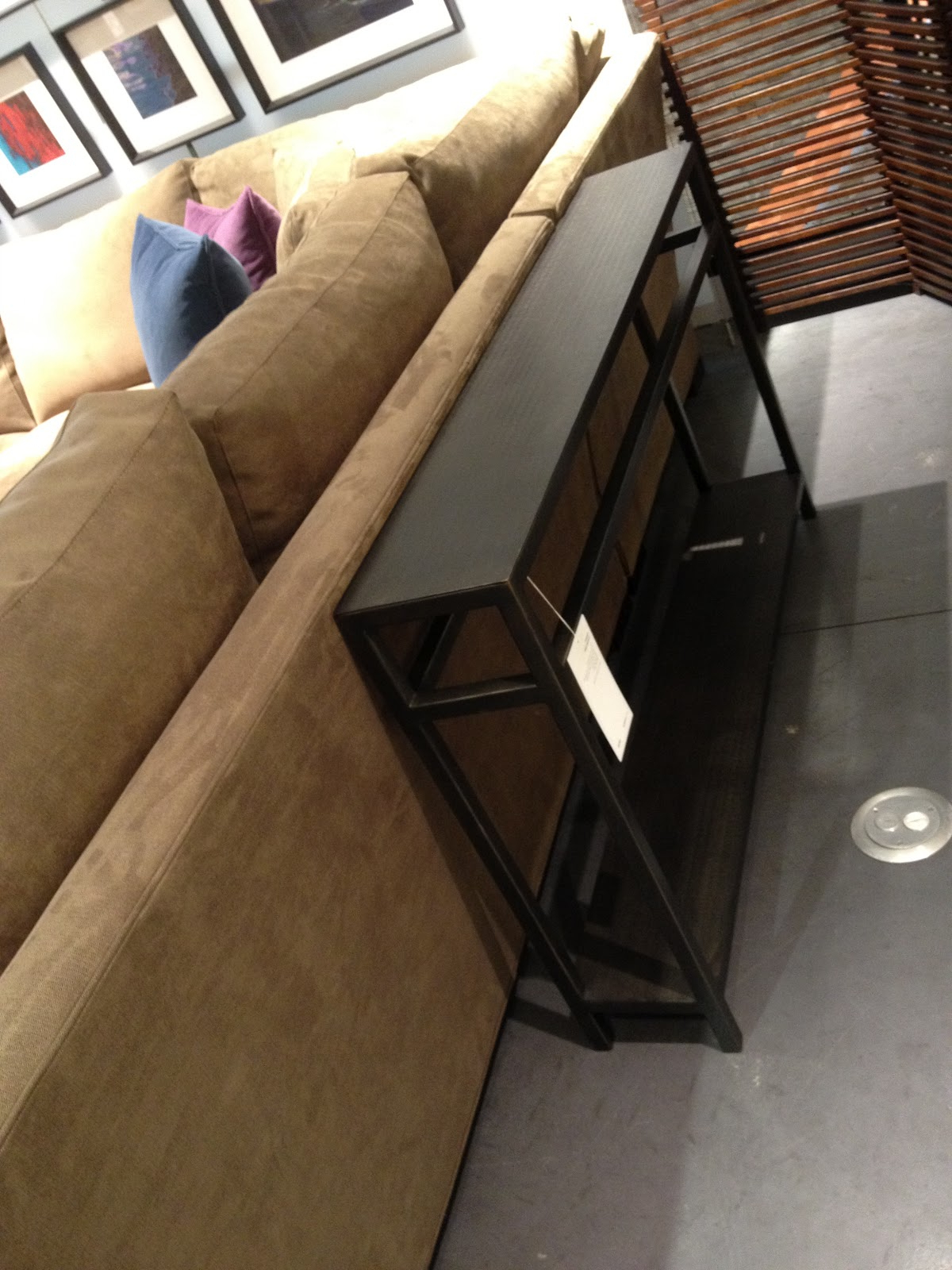 Recent Echelon Console Tables For Crate & Barrel, Say What? (Gallery 3 of 20)