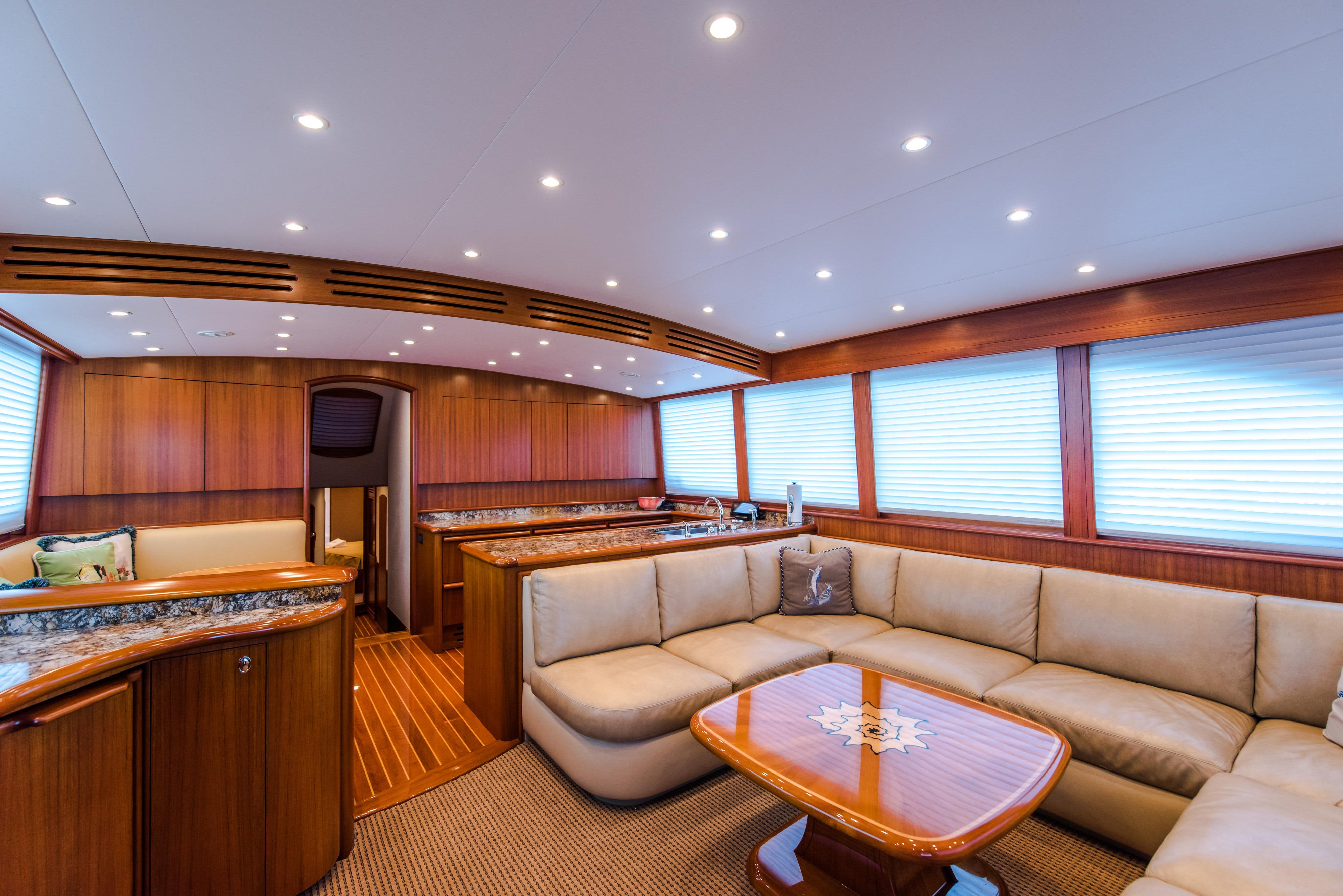 Recent Loud Enuff Mark Willis 2008 76 Custom Sportfish 76 Yacht For Sale In Us For Mikelson Media Console Tables (Gallery 18 of 20)