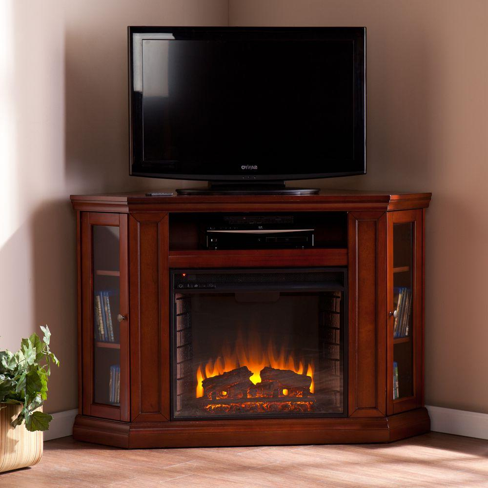 Recent Mahogany Tv Cabinets Intended For Southern Enterprises Carter 48 In. Convertible Media Electric (Gallery 20 of 20)