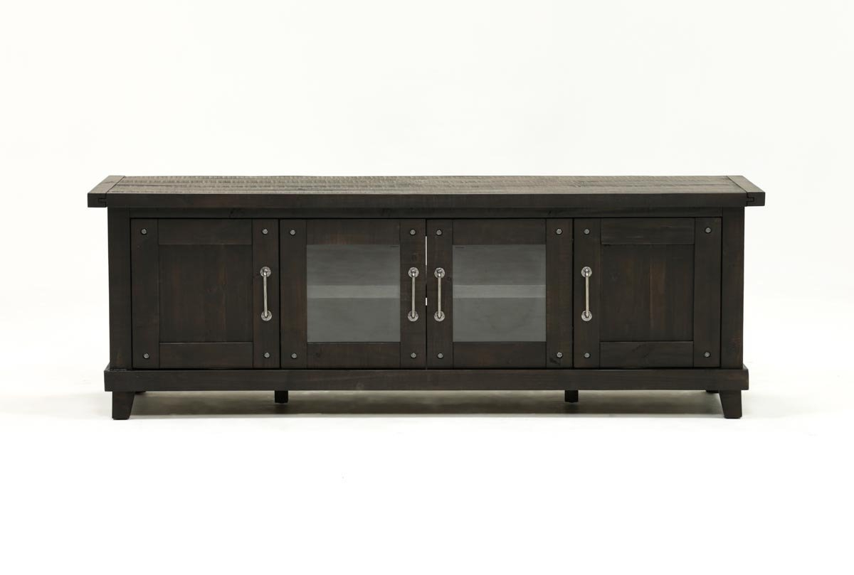 Recent Natural 2 Door Plasma Console Tables With Regard To Jaxon 76 Inch Plasma Console (View 17 of 20)