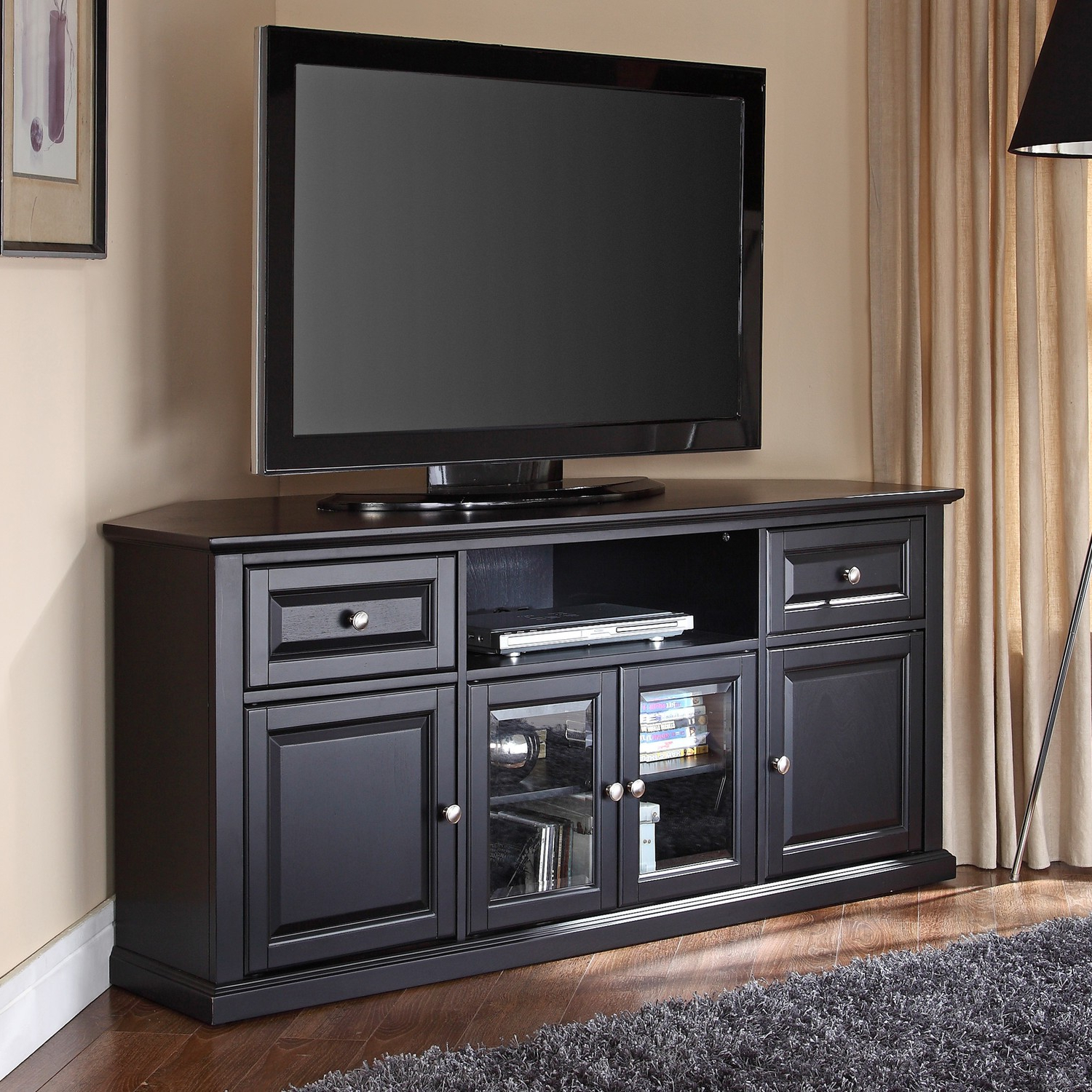Recent Oak Tv Cabinets For Flat Screens Throughout Wood Tv Stand With Mount Flat Screen Tv Stand Tv Cabinet Design (View 17 of 20)