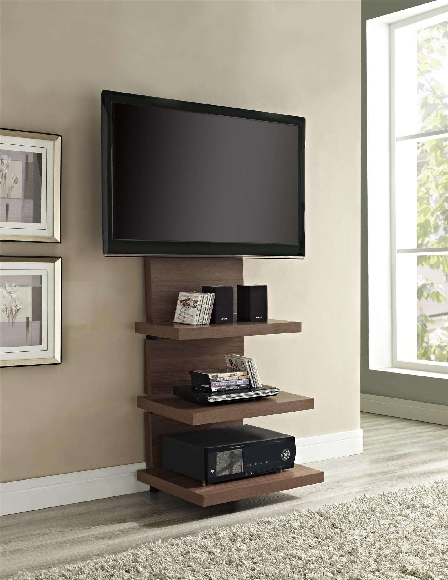 Recent Skinny Tv Stands With Tall Tv Stand Stands For Flat Screens Ikea Shallow Console Narrow (View 9 of 20)
