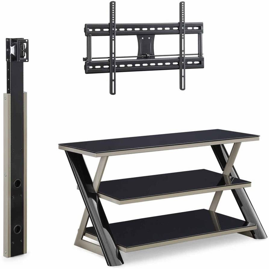 Recent Swivel Black Glass Tv Stands Regarding 40 Inch Tall Tv Stand Stands Best Buy Walmart Black With Mount (View 12 of 20)