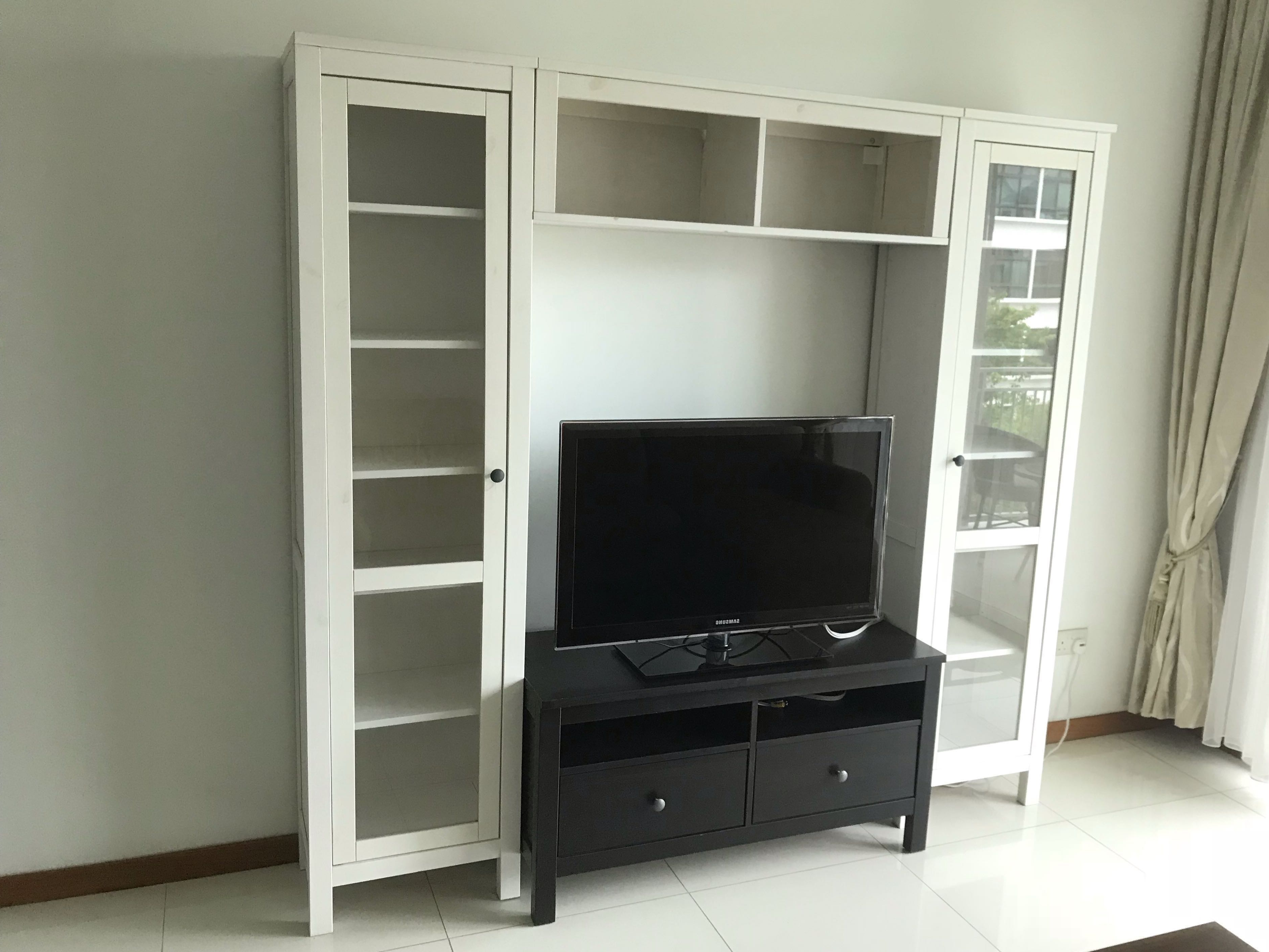 Recent Tv Display Cabinets Throughout Reserved* Tv Console & Display Cabinets, Furniture, Shelves (Gallery 8 of 20)