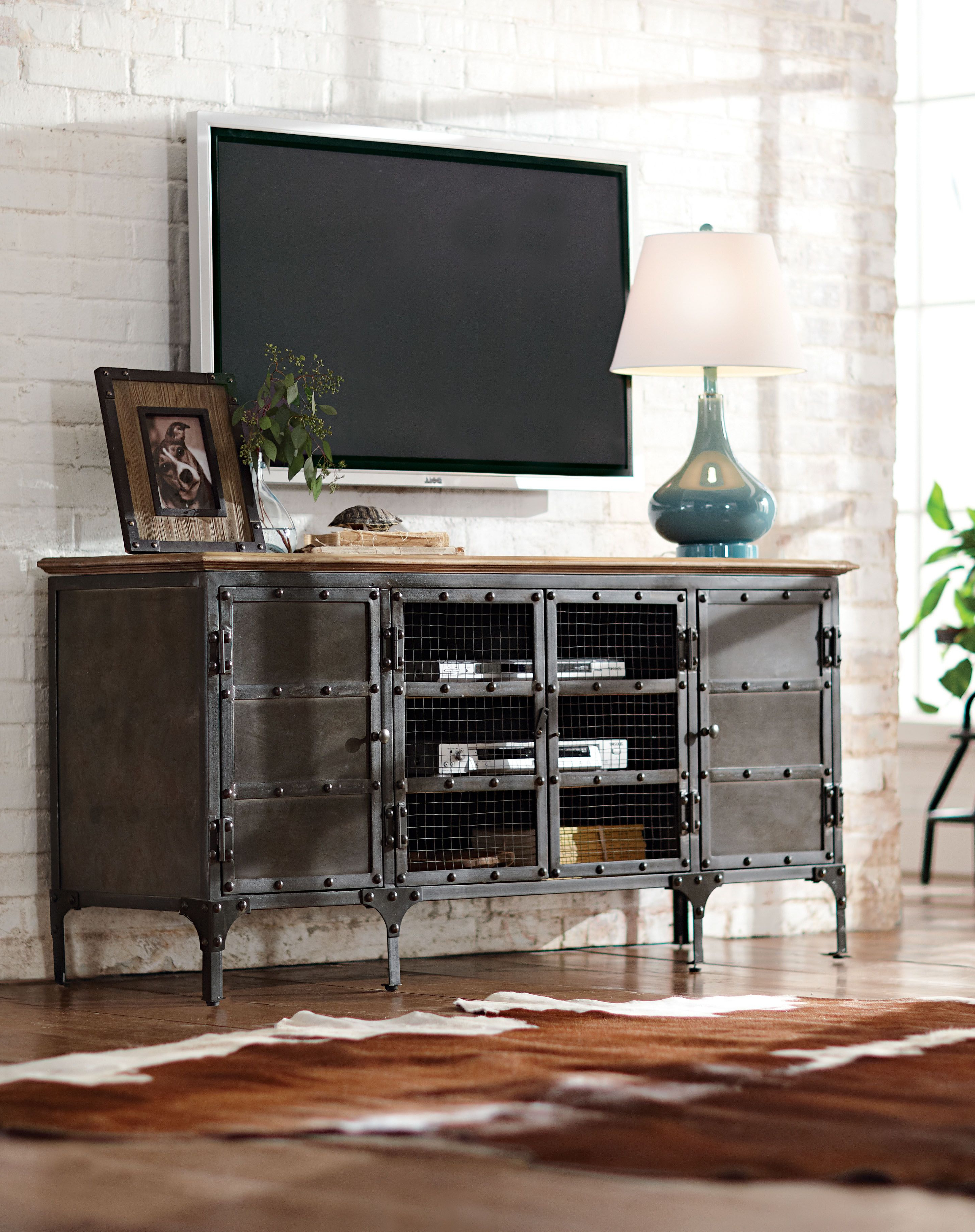 Recent Tv Stand Made Stylish. It's The Perfect Complement To An Industrial Within Industrial Tv Stands (Gallery 19 of 20)