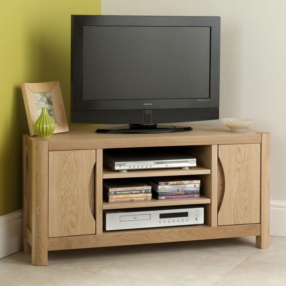 Recent Tv Units With Storage Pertaining To Bergen Corner Tv Unit – Tv Units And Media Storage (Gallery 11 of 20)