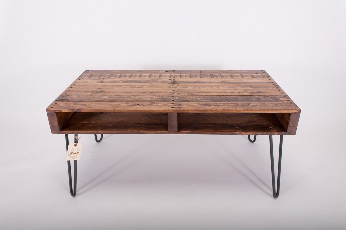 Reclaimed Handmade Wood Wooden Slim Line Slimline Tv Stand With For Recent Slim Line Tv Stands (Gallery 14 of 20)