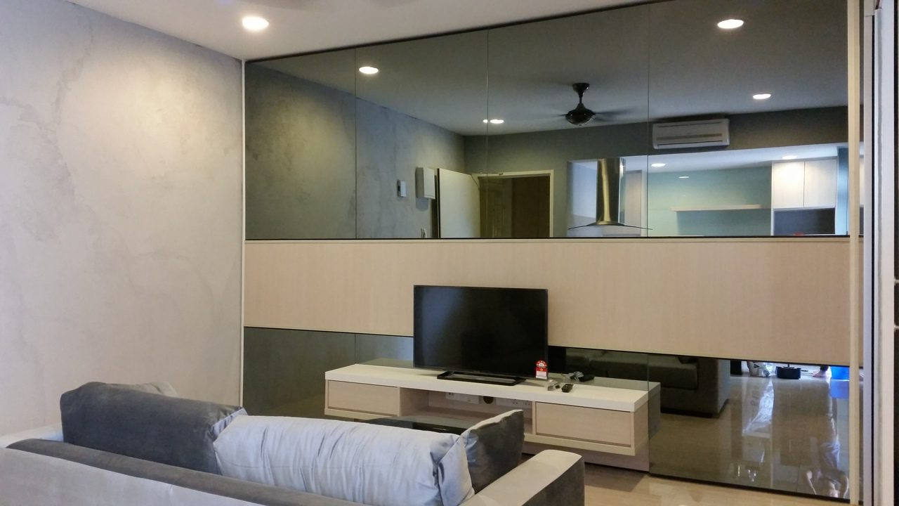 Recommend.my Living Regarding Mirror Tv Cabinets (Gallery 18 of 20)