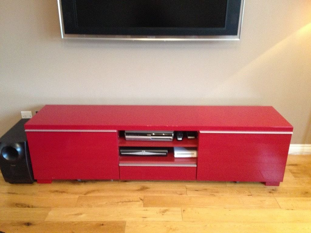Red Gloss Tv Cabinets In Widely Used Red Gloss Tv Cabinets Simple Innovative 1024×768 Attachment (Gallery 4 of 20)