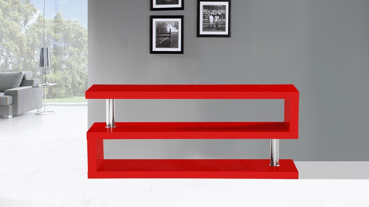 Red Gloss Tv Cabinets With Regard To 2018 Red Gloss Tv Cabinets Decoration Innovative 1280×720 Attachment (View 12 of 20)
