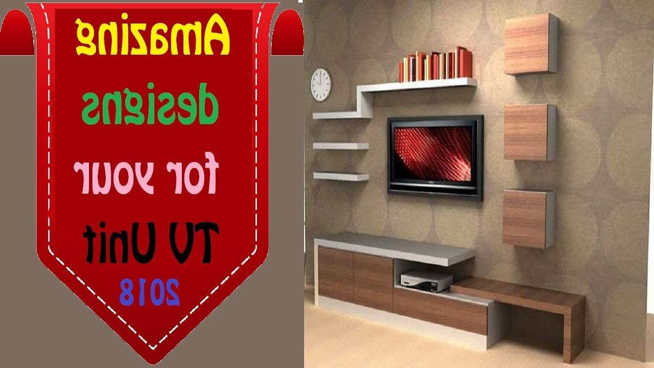 Red Tv Units Regarding Most Current Best Top 25 Modern Tv Cabinet Wall Units Stylish Wall Mount Tv (View 14 of 20)
