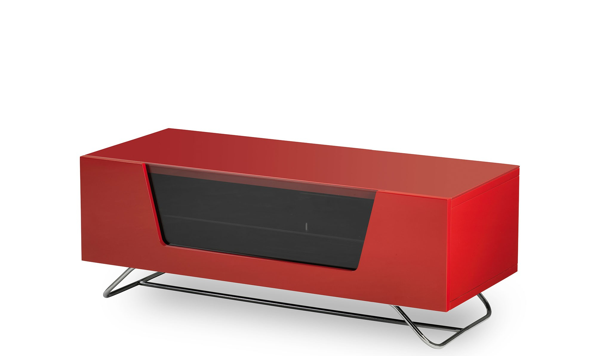 Red Tv Units With Regard To Fashionable Omega – White High Gloss Tv Unit – Fishpools (View 7 of 20)