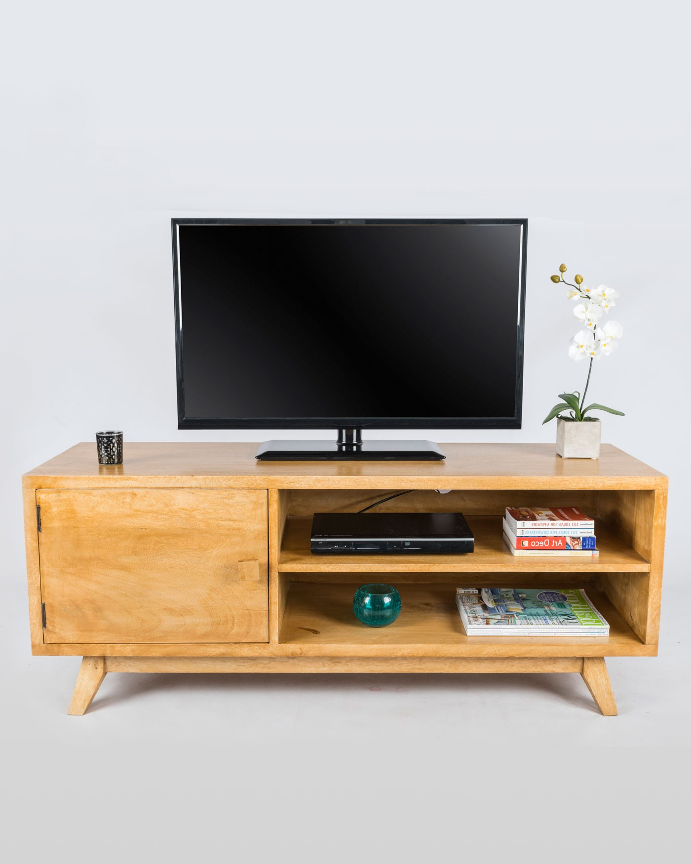 [%Retro Wooden Tv Stand With Shelf 100% Solid Mango Wood Oak Shade Within Most Current Mango Wood Tv Stands|Mango Wood Tv Stands With Regard To Widely Used Retro Wooden Tv Stand With Shelf 100% Solid Mango Wood Oak Shade|Famous Mango Wood Tv Stands In Retro Wooden Tv Stand With Shelf 100% Solid Mango Wood Oak Shade|Widely Used Retro Wooden Tv Stand With Shelf 100% Solid Mango Wood Oak Shade Inside Mango Wood Tv Stands%] (View 5 of 20)