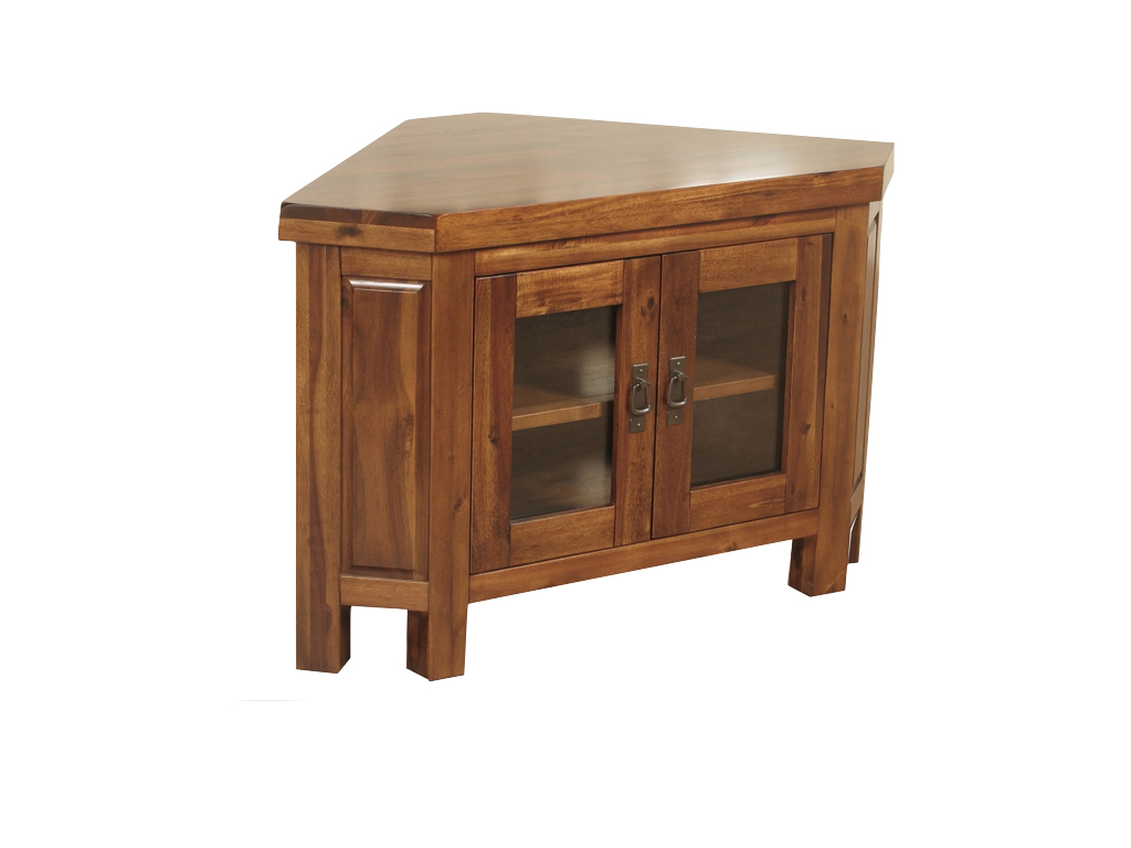 Roscrea Corner Tv Unit (with Glass Doors) (View 15 of 20)