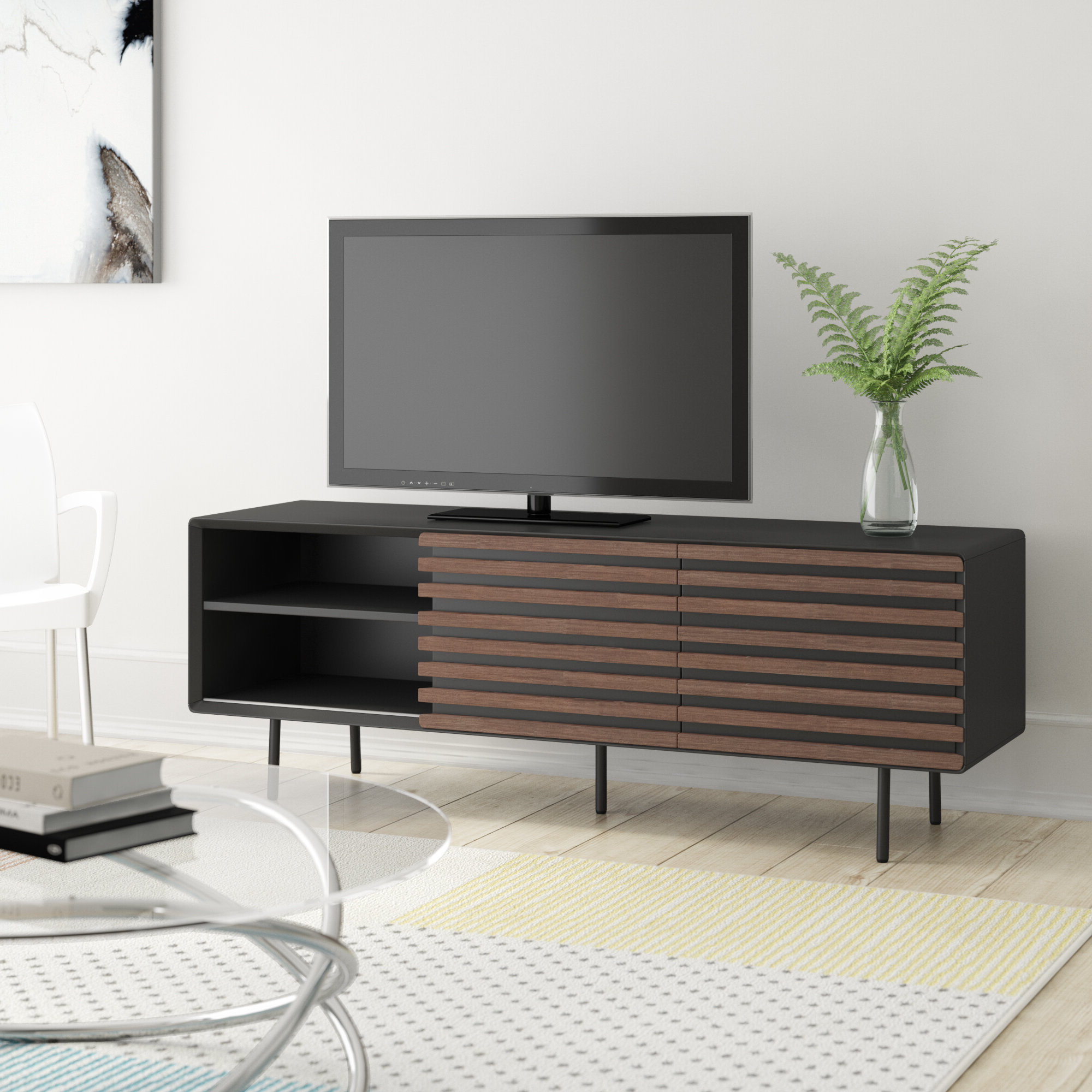 Rowan 45 Inch Tv Stands Inside Preferred Retro Tv Stands & Entertainment Units You'll Love (Gallery 19 of 20)