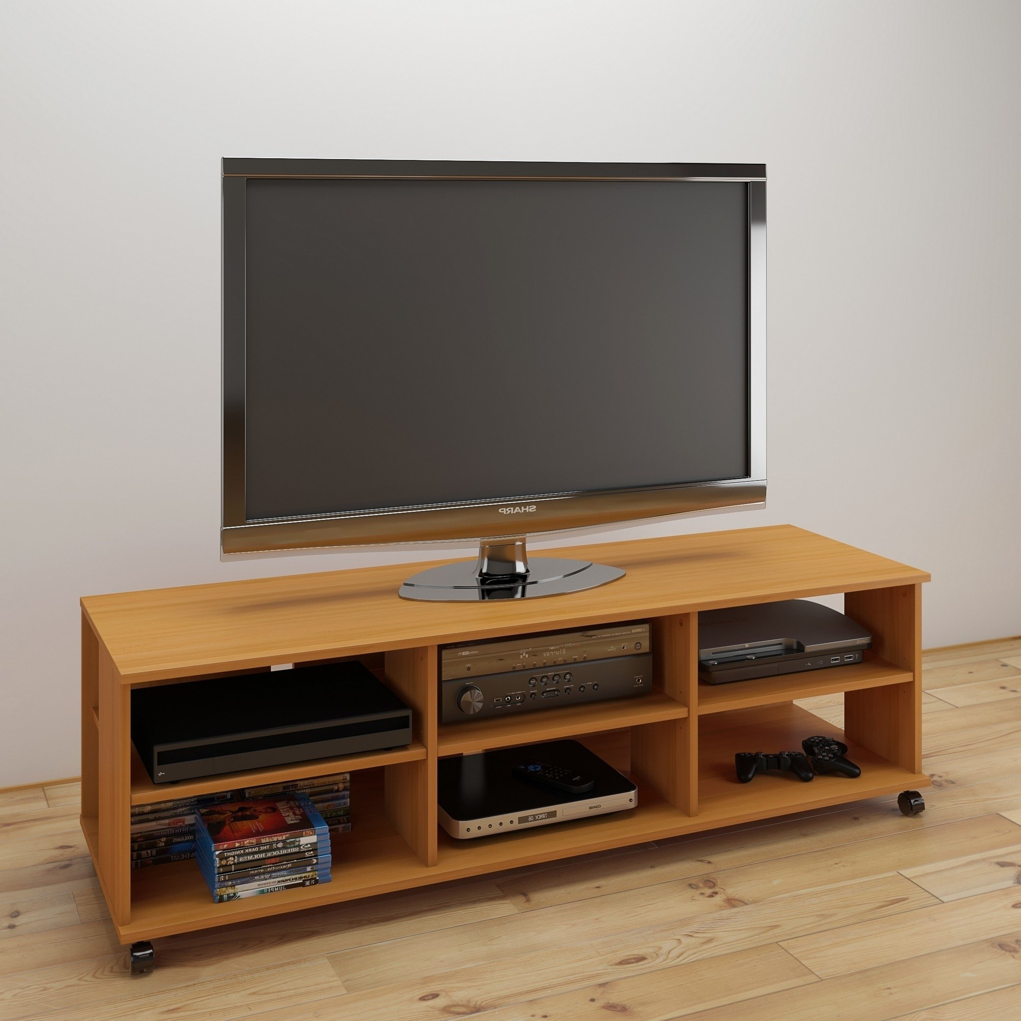 Rowan 64 Inch Tv Stands For Well Known Buy Beige, Modern & Contemporary Tv Stands & Entertainment Centers (Gallery 18 of 20)