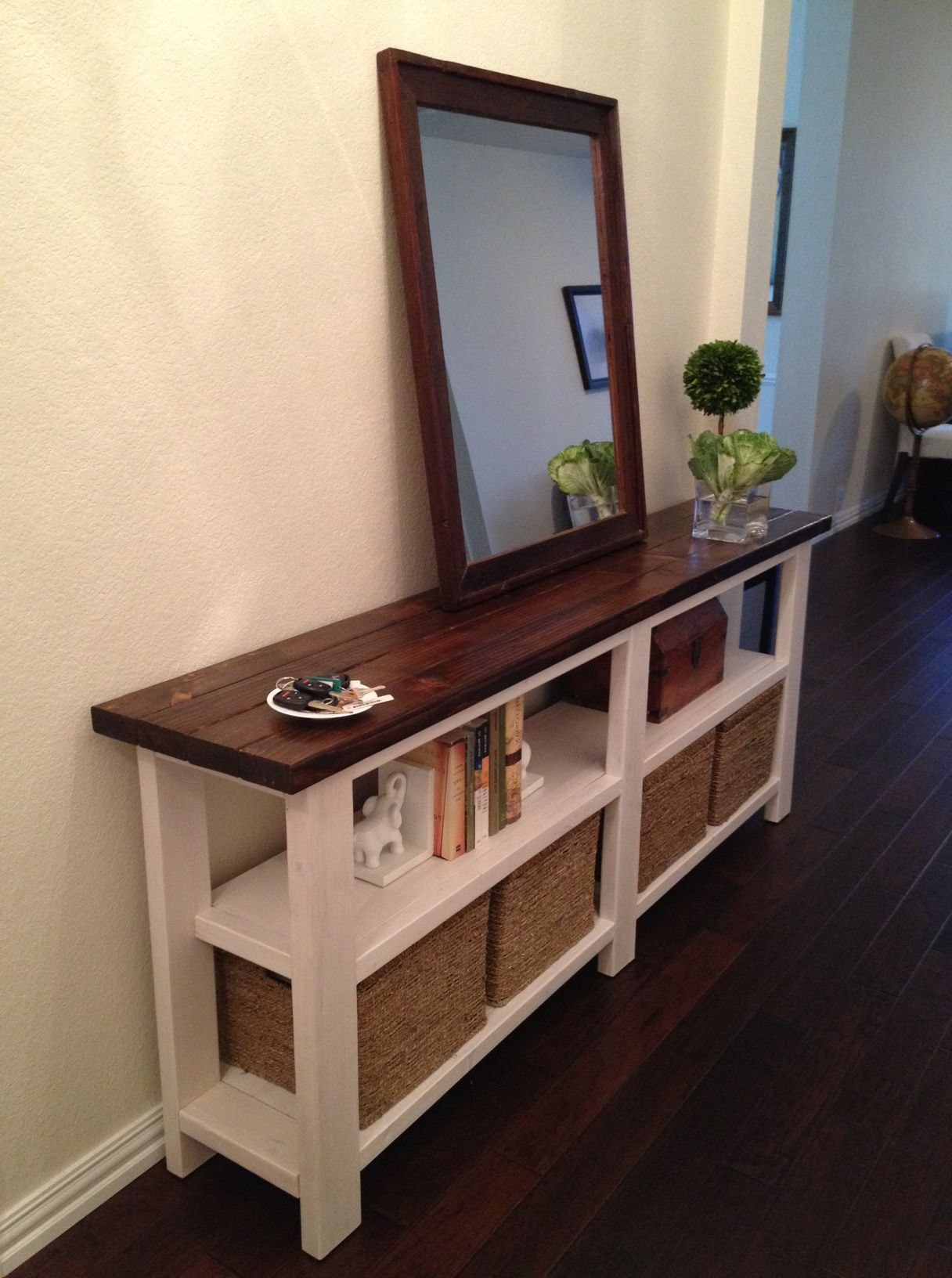 Rustic Chic Console Table (Gallery 9 of 20)