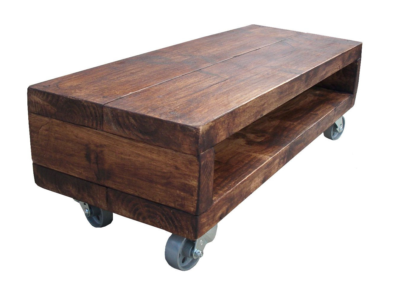 Rustic Coffee Table And Tv Stand Intended For Widely Used Best Pallet Projects (View 11 of 20)