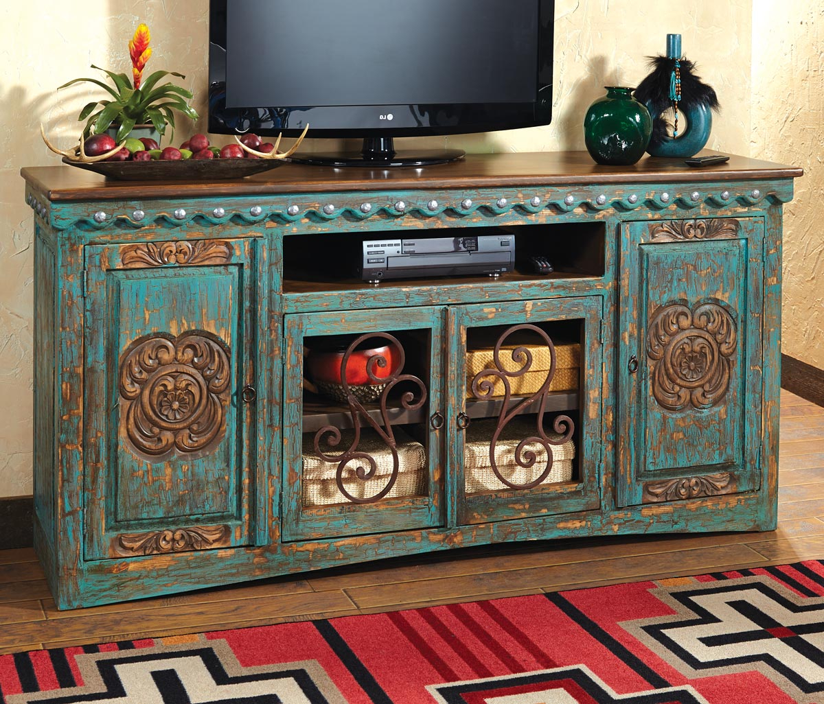 Rustic Tv Cabinets For Widely Used Innovative Decoration Rustic Tv Console Table Contemporary Design (View 14 of 20)