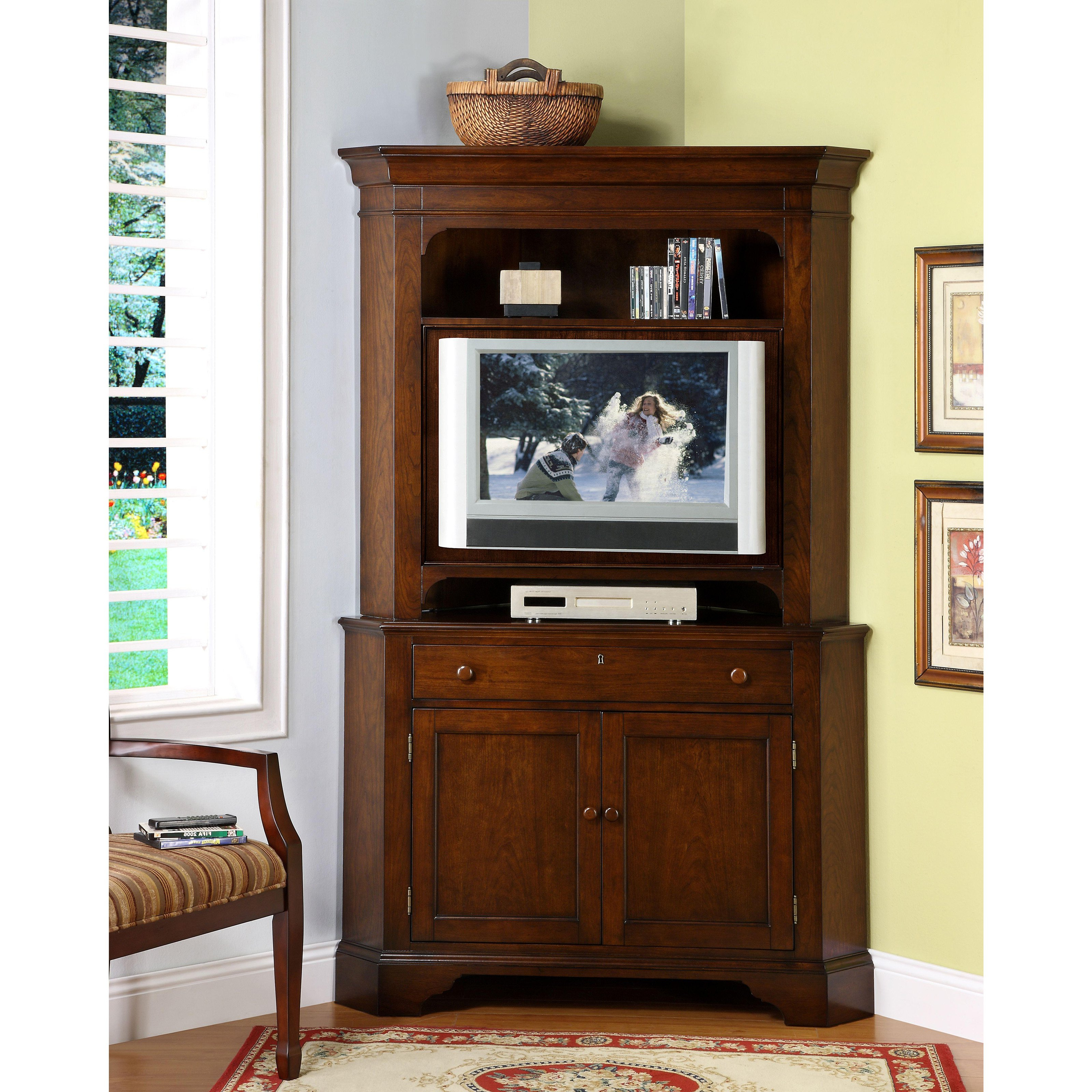 Rustic Tv Cabinets Throughout Widely Used Corner Rustic Tv Stand Hutches For Dining Room Schoumln 2 Door (View 16 of 20)