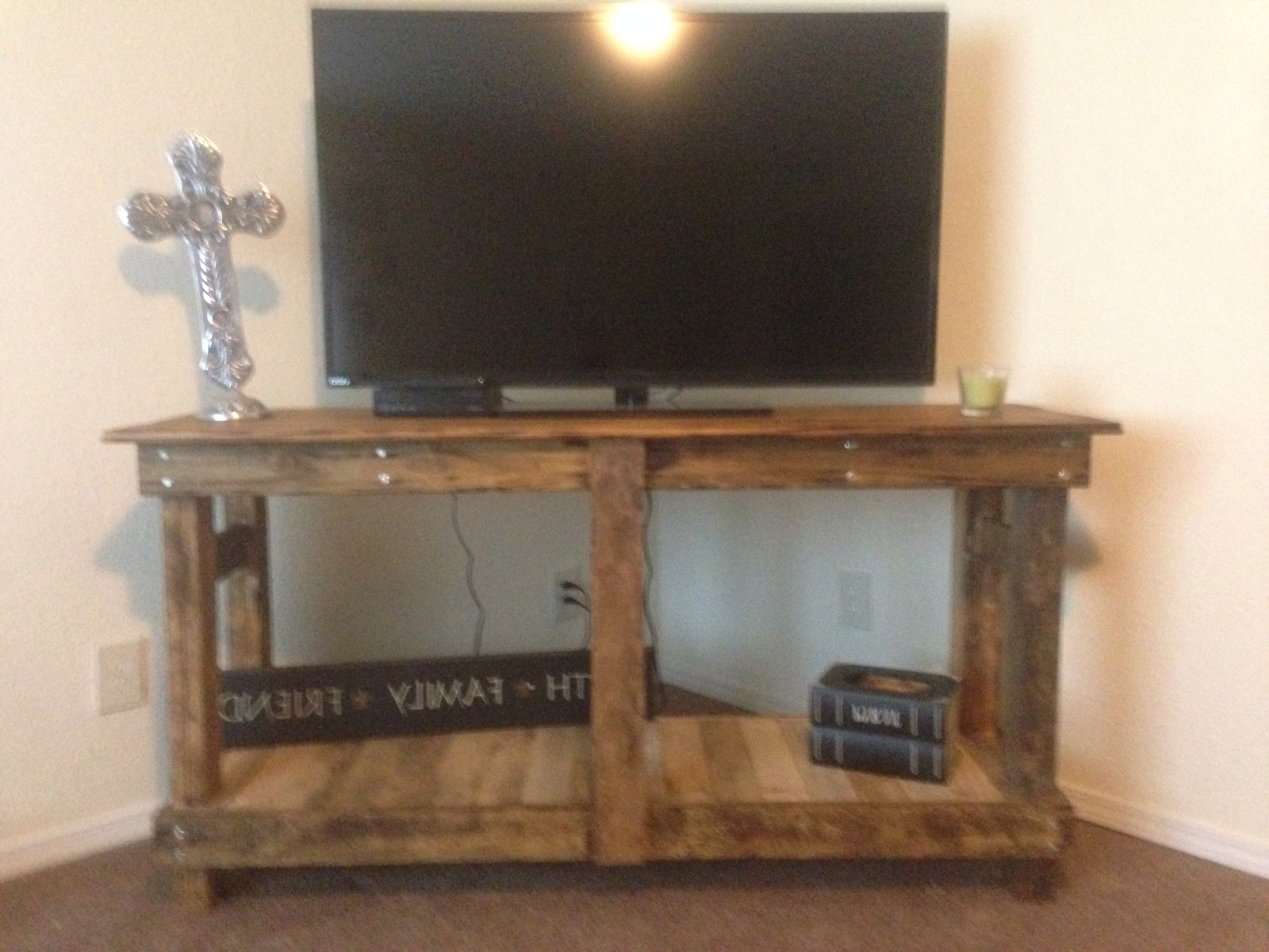 Rustic Tv Stand – Diy Projects (View 13 of 20)