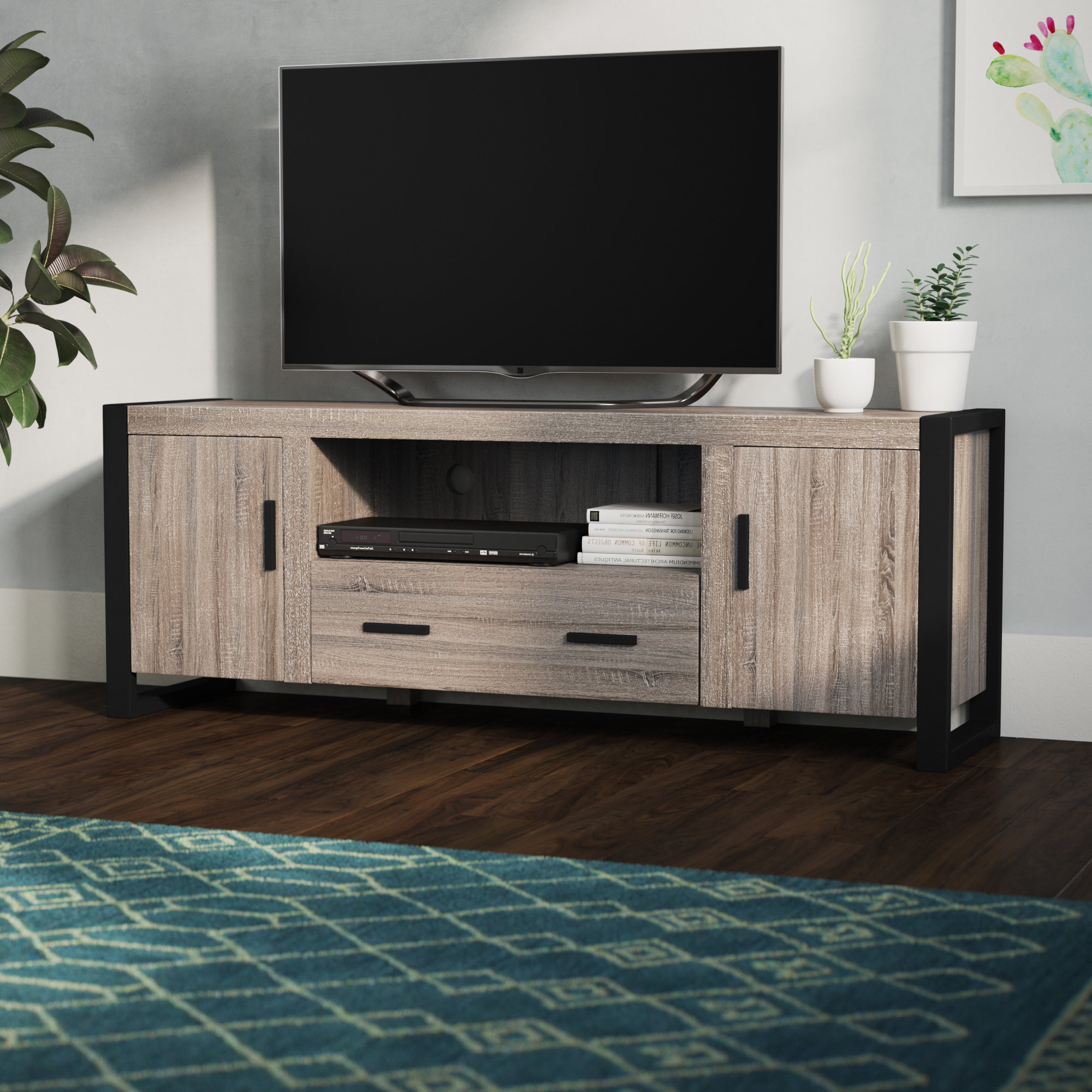 Rustic Tv Stands For Sale Within Best And Newest Rustic Tv Stands & Entertainment Centers You'll Love (Gallery 7 of 20)