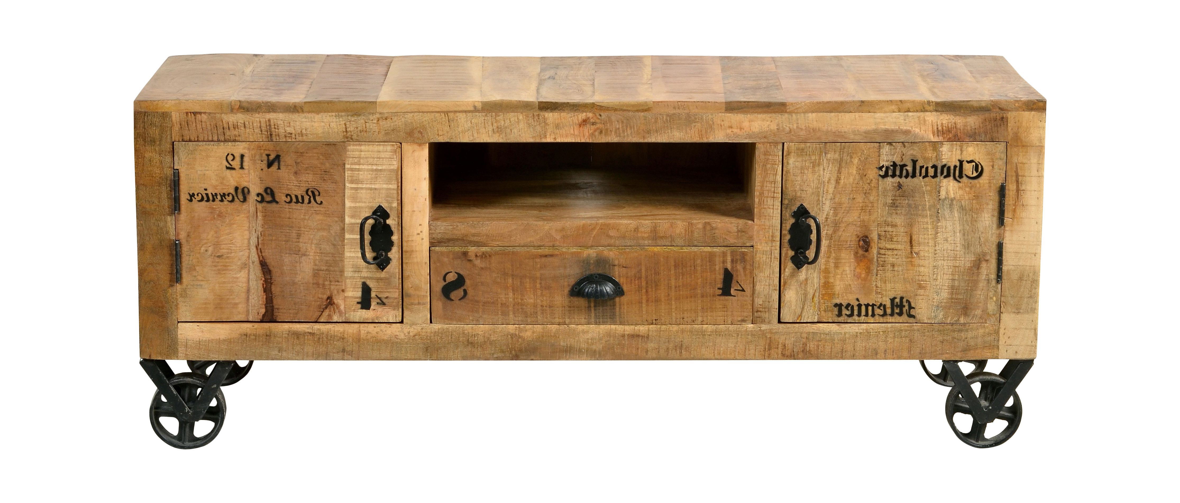 Rustic Tv Stands Intended For Well Known Denver Rustic Tv Stand (View 16 of 20)